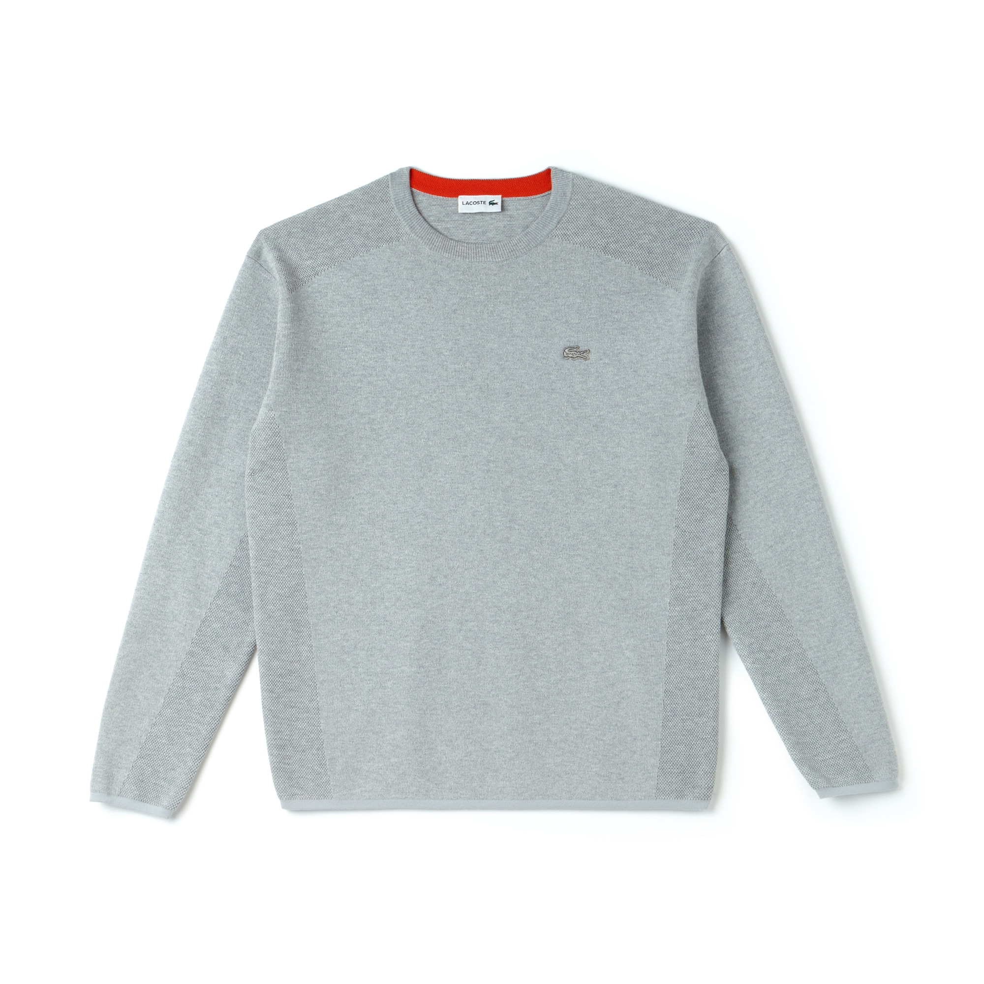 Men's Motion Crew Neck Coolmax Cotton Sweater