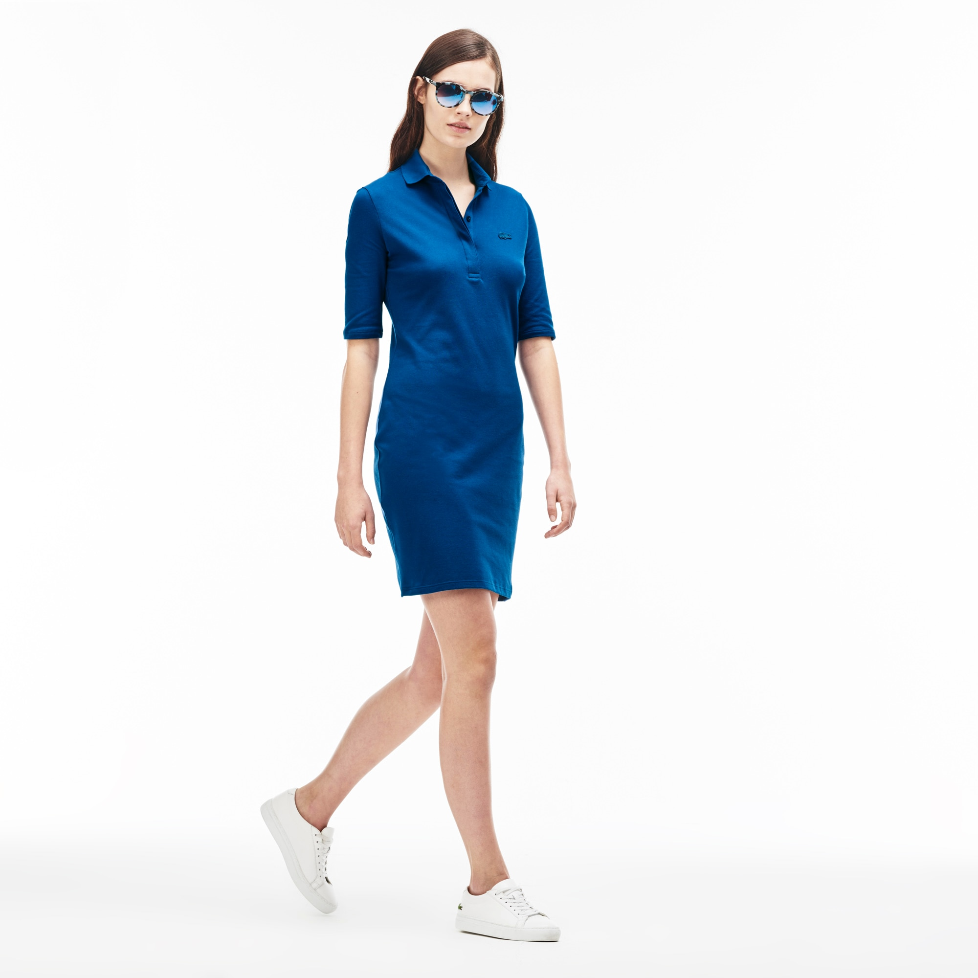 Women's Quarter Sleeve Piqué Polo Dress