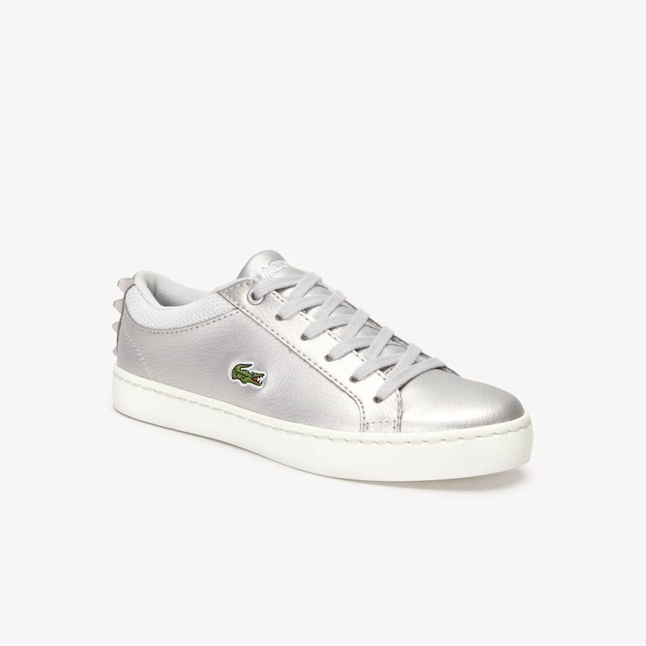 Kids' Straightset Metallic Lace-Up Sneakers