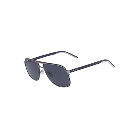 Men's Metal Stripes & Piping Navigator Sunglasses