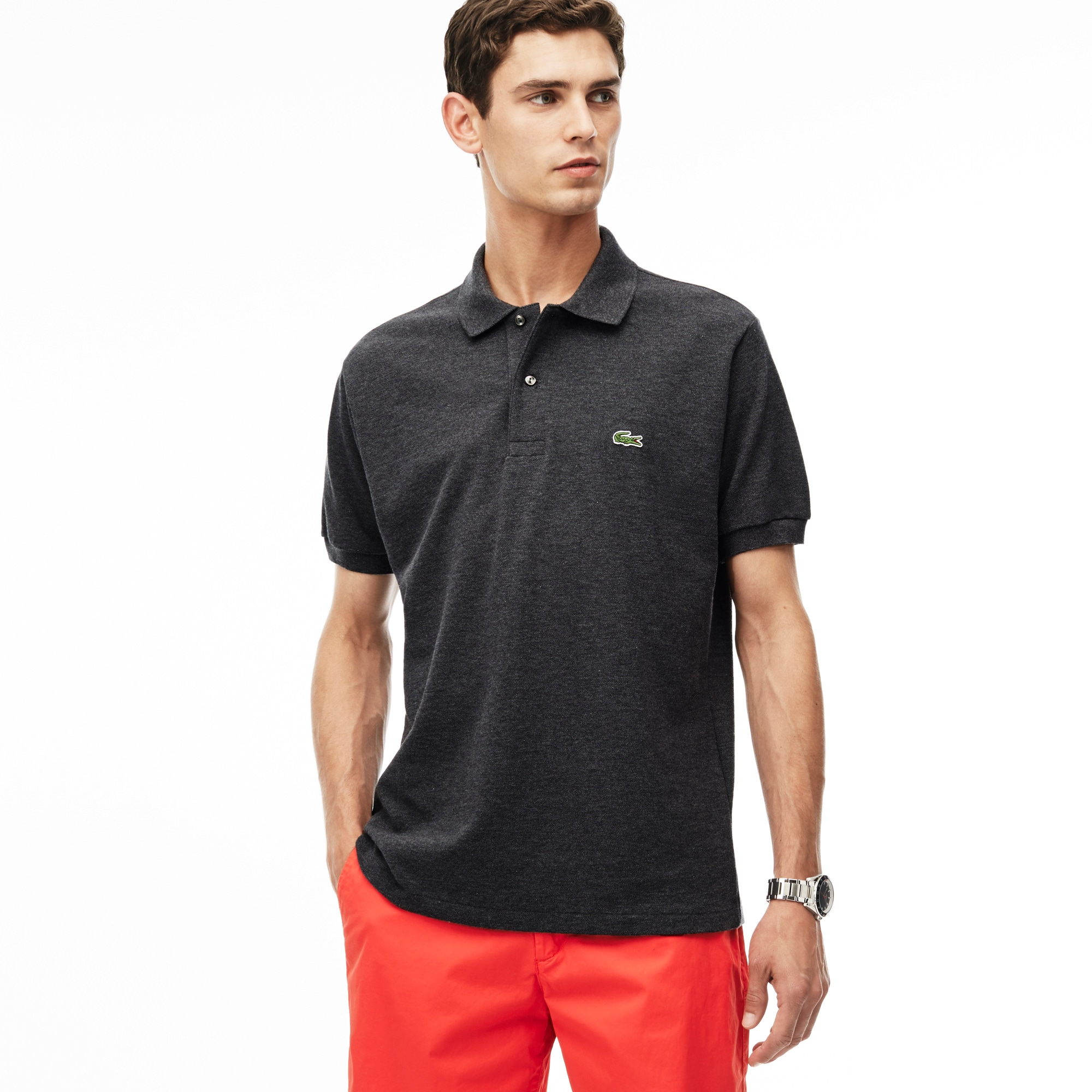 Men's Classic L.12.12 Chine Piqué Polo Shirt