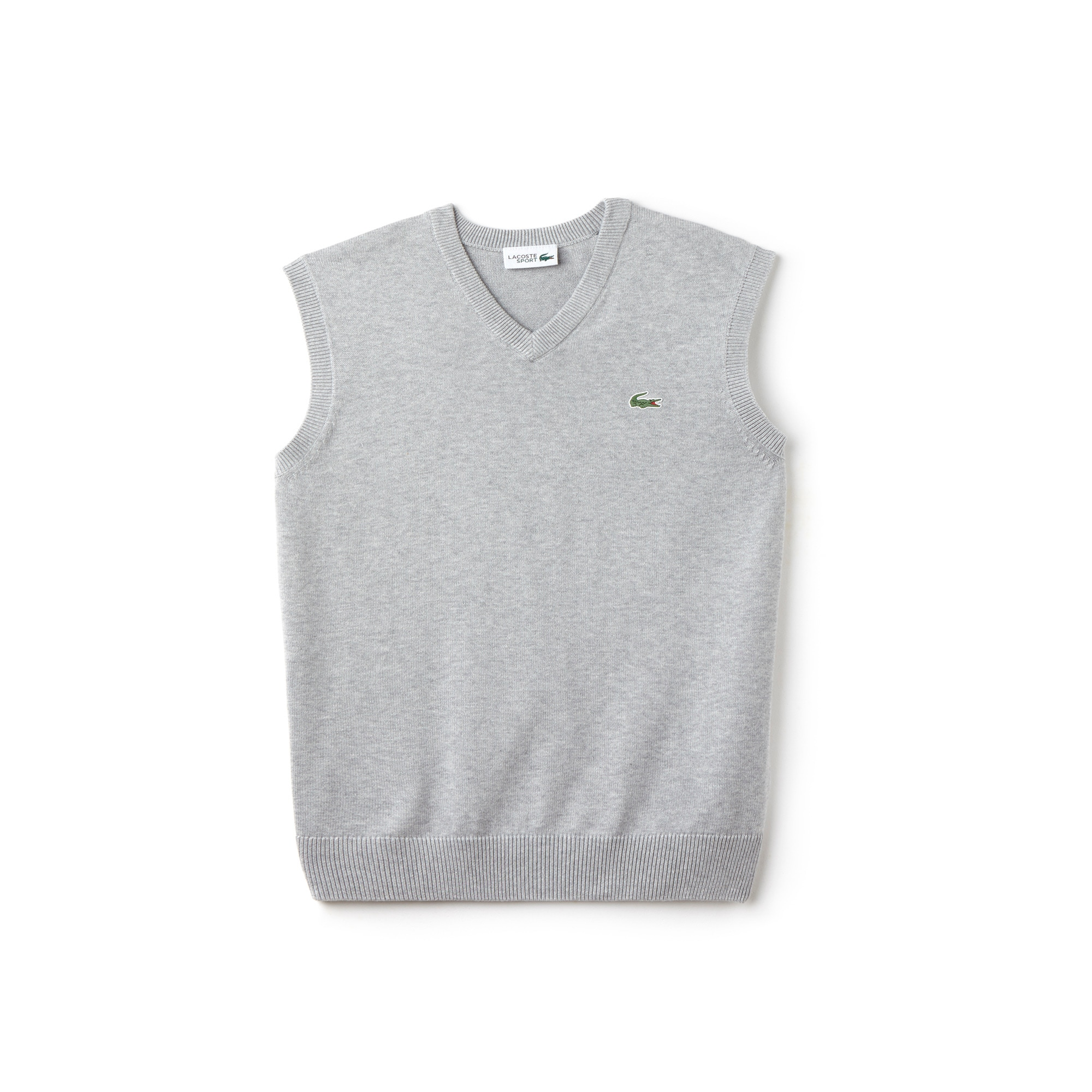 Men's Lacoste SPORT V-Neck Jersey Sweater