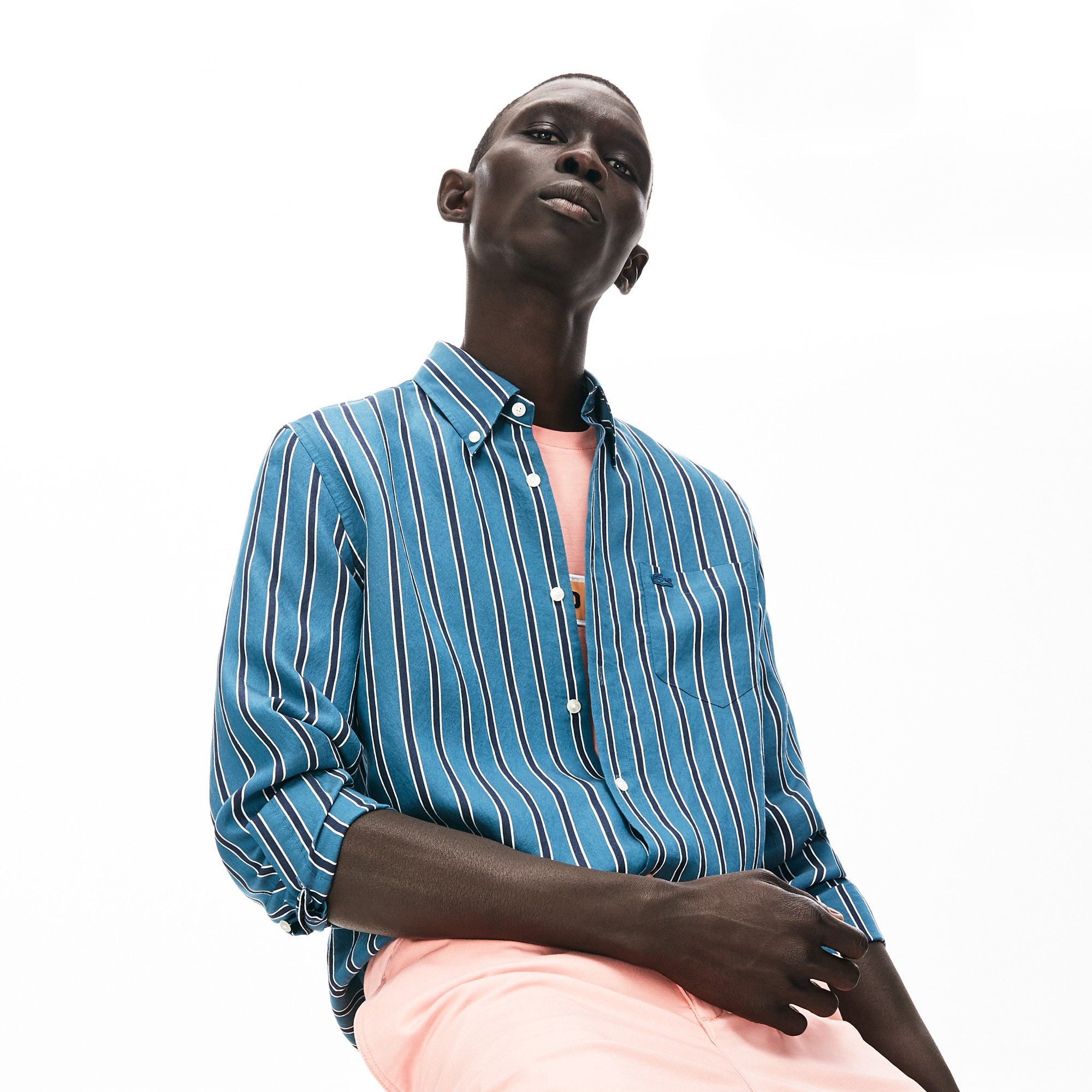 Men's Lightweight Striped Shirt