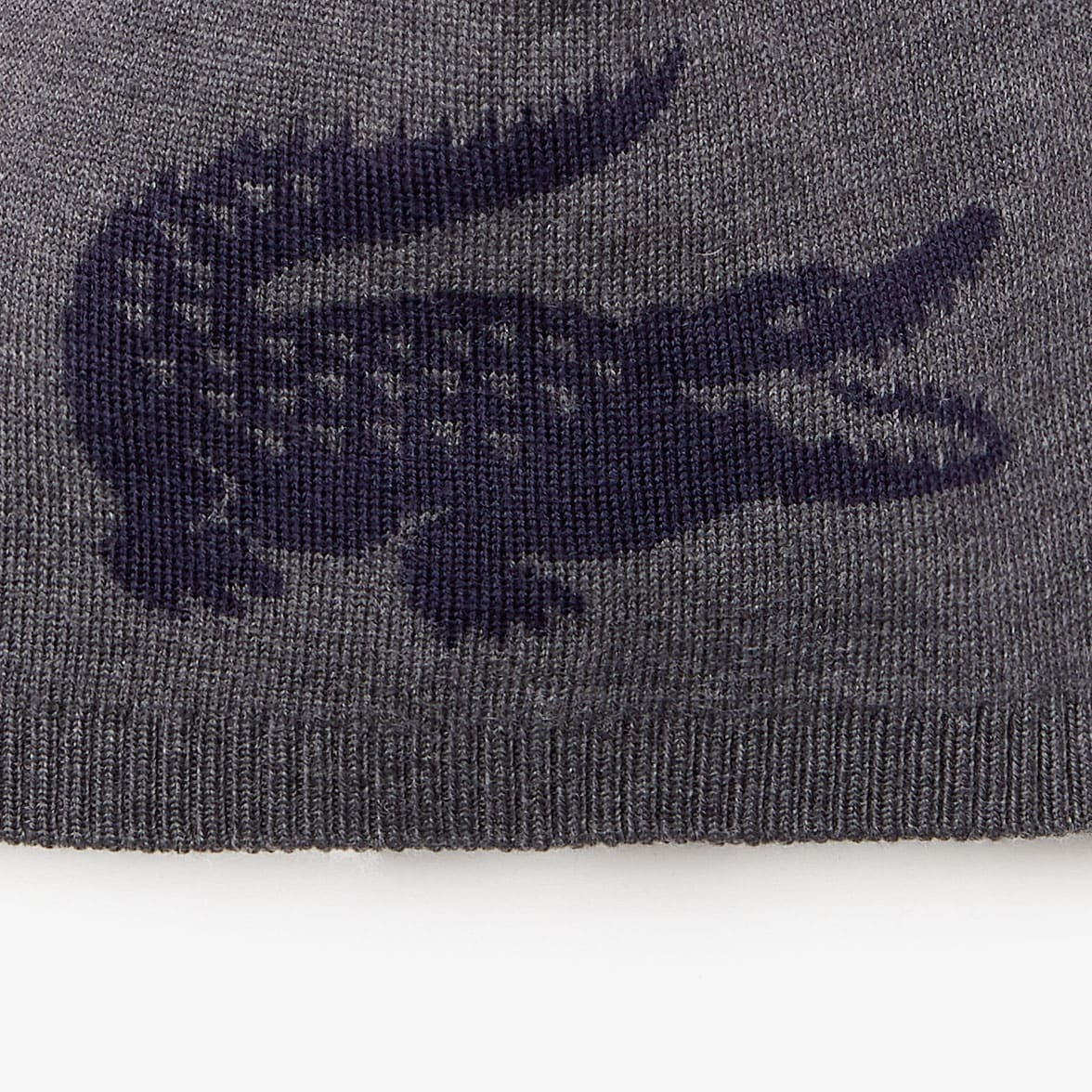 Men's Jacquard Crocodile Wool Beanie