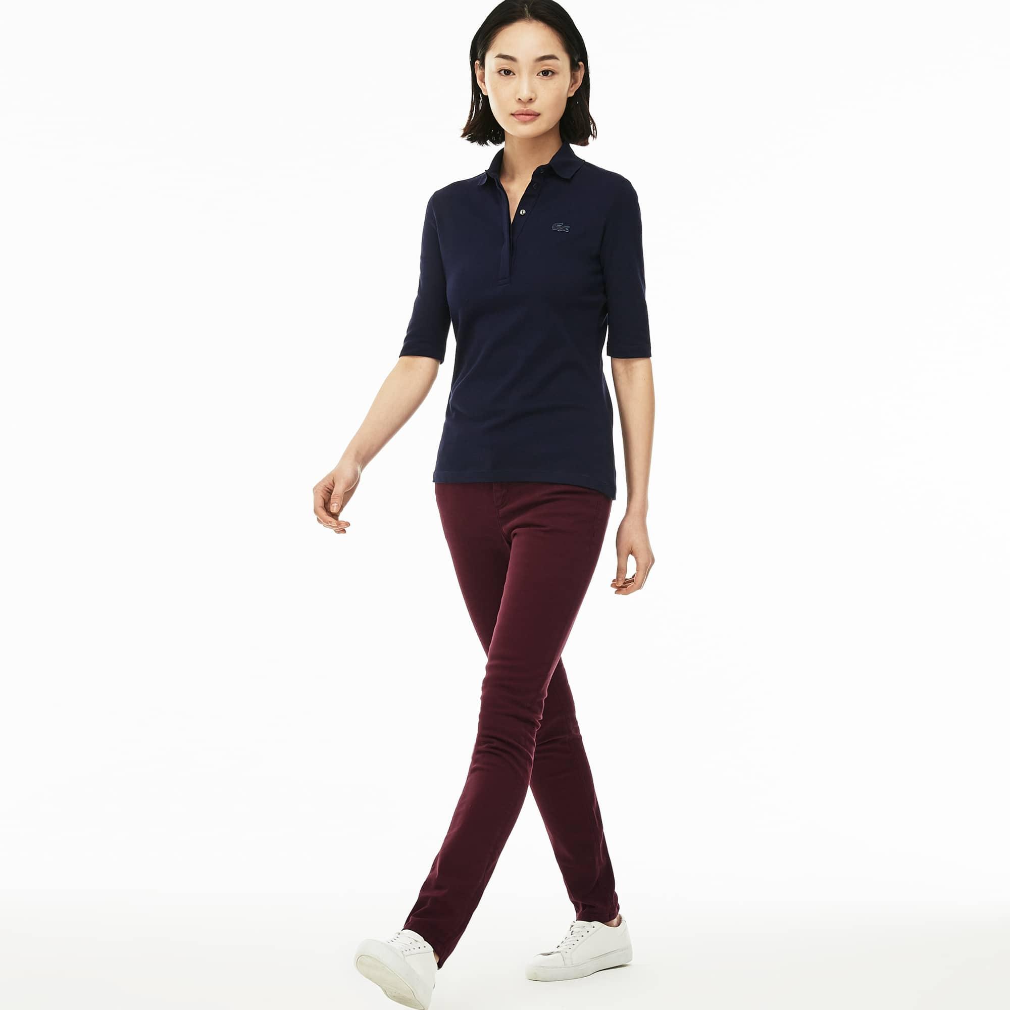 Women's Slim Fit Stretch Cotton Denim Jeans