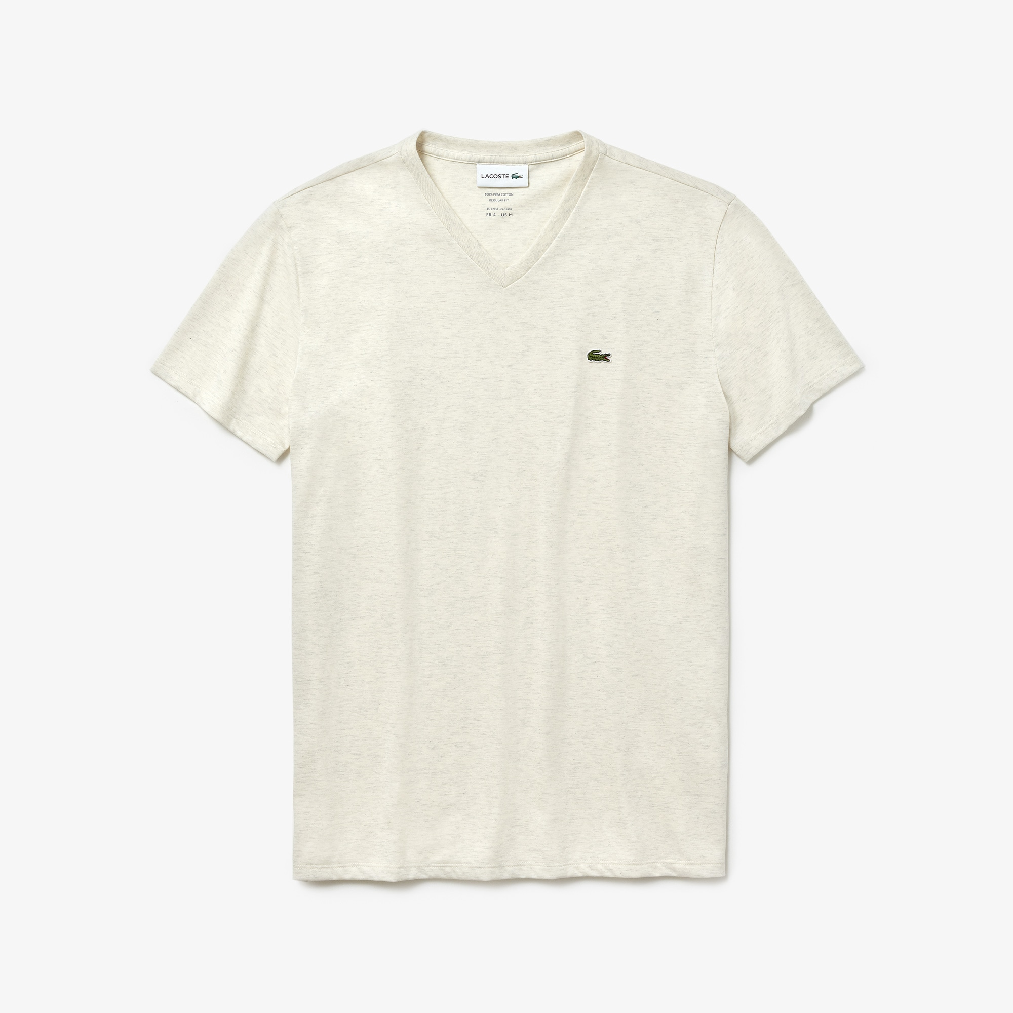 Men's V-Neck Pima Cotton T-Shirt