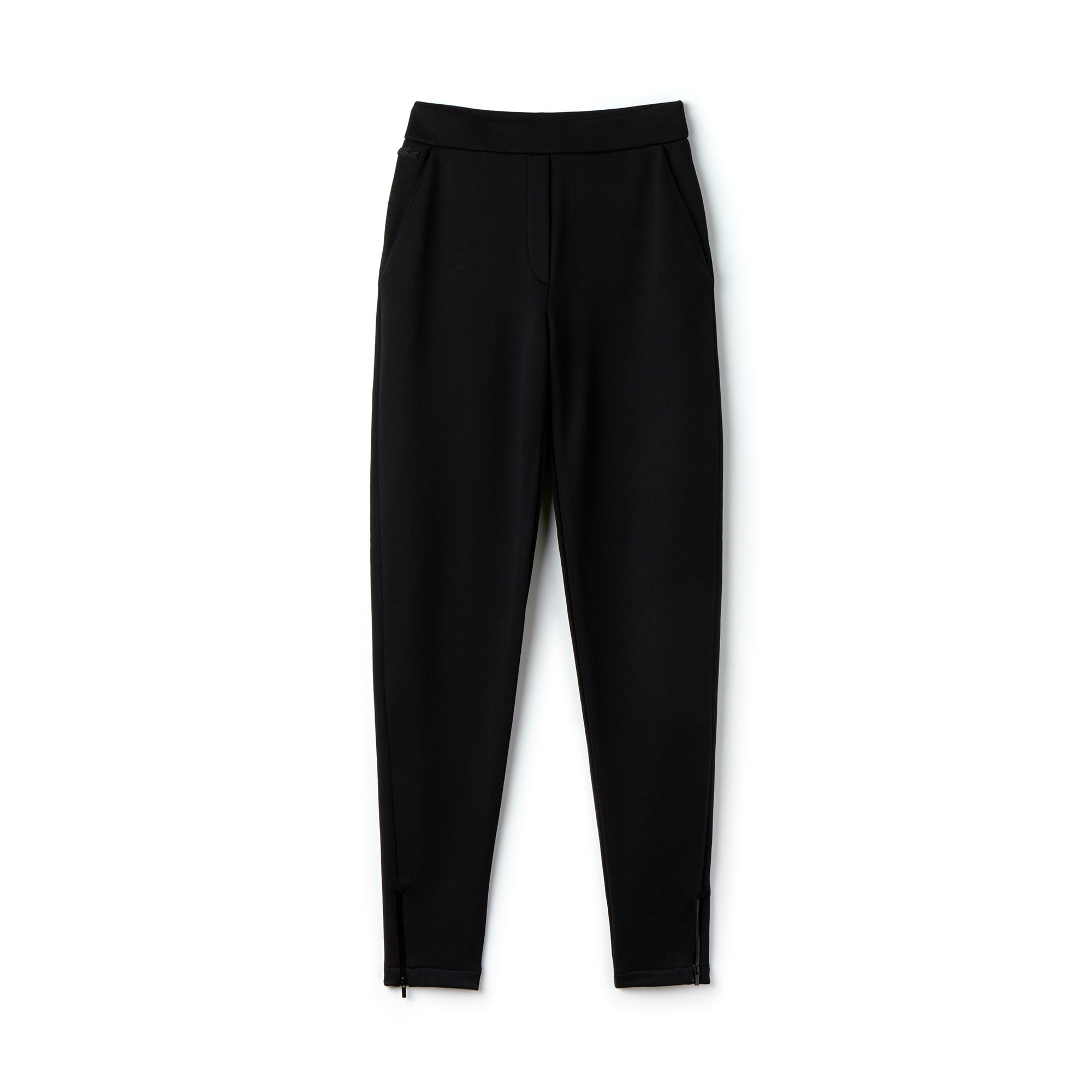 Women's Fleece Zippered Leg Bottom Jogging Pants