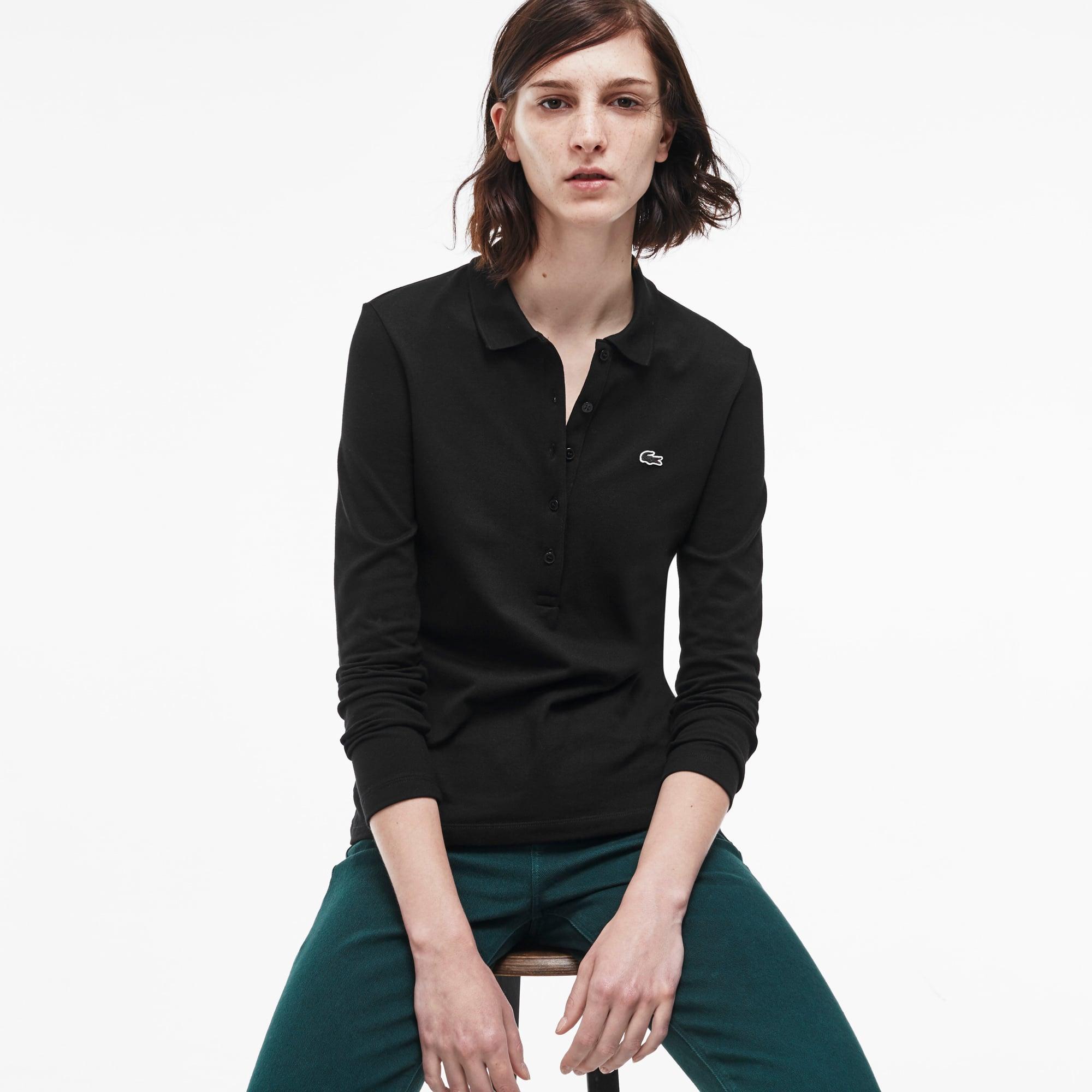 Women's Stretch Piqué Polo Shirt