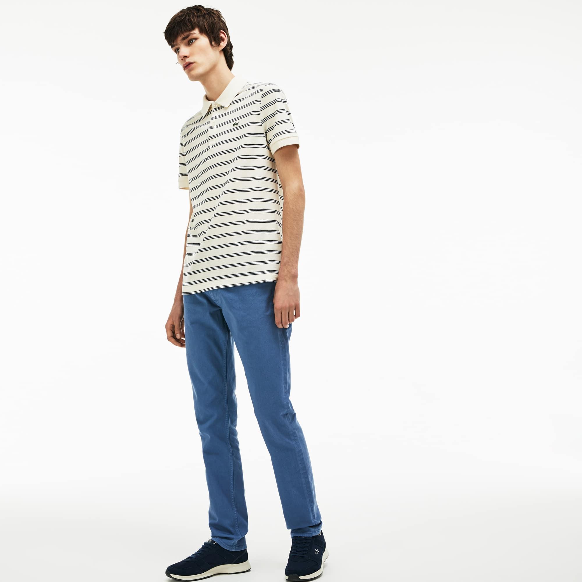 Men's Slim Fit 5-Pocket Twill Pants