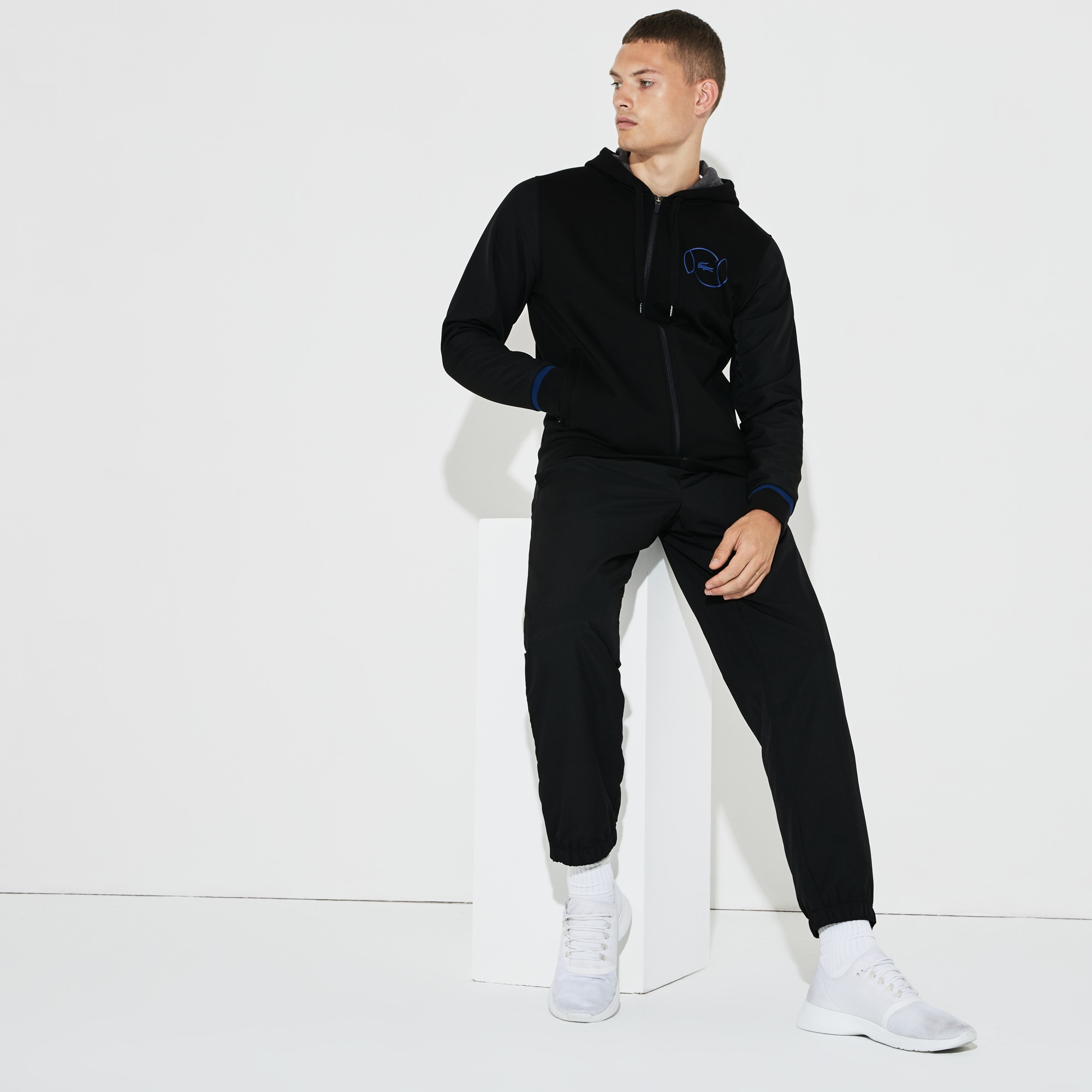 Men's SPORT Fleece And Taffeta Tennis Tracksuit