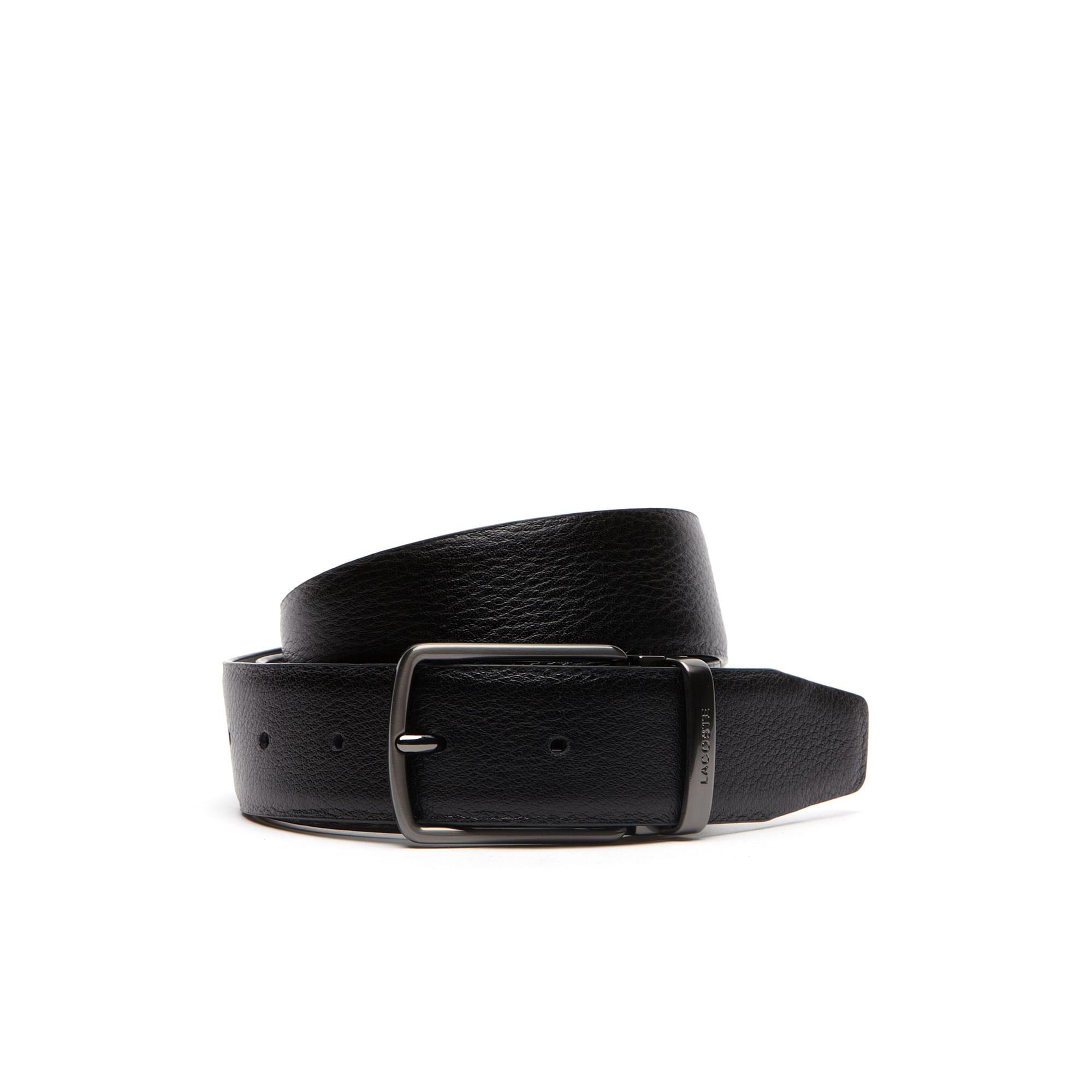 Men's Grainy Leather Belt