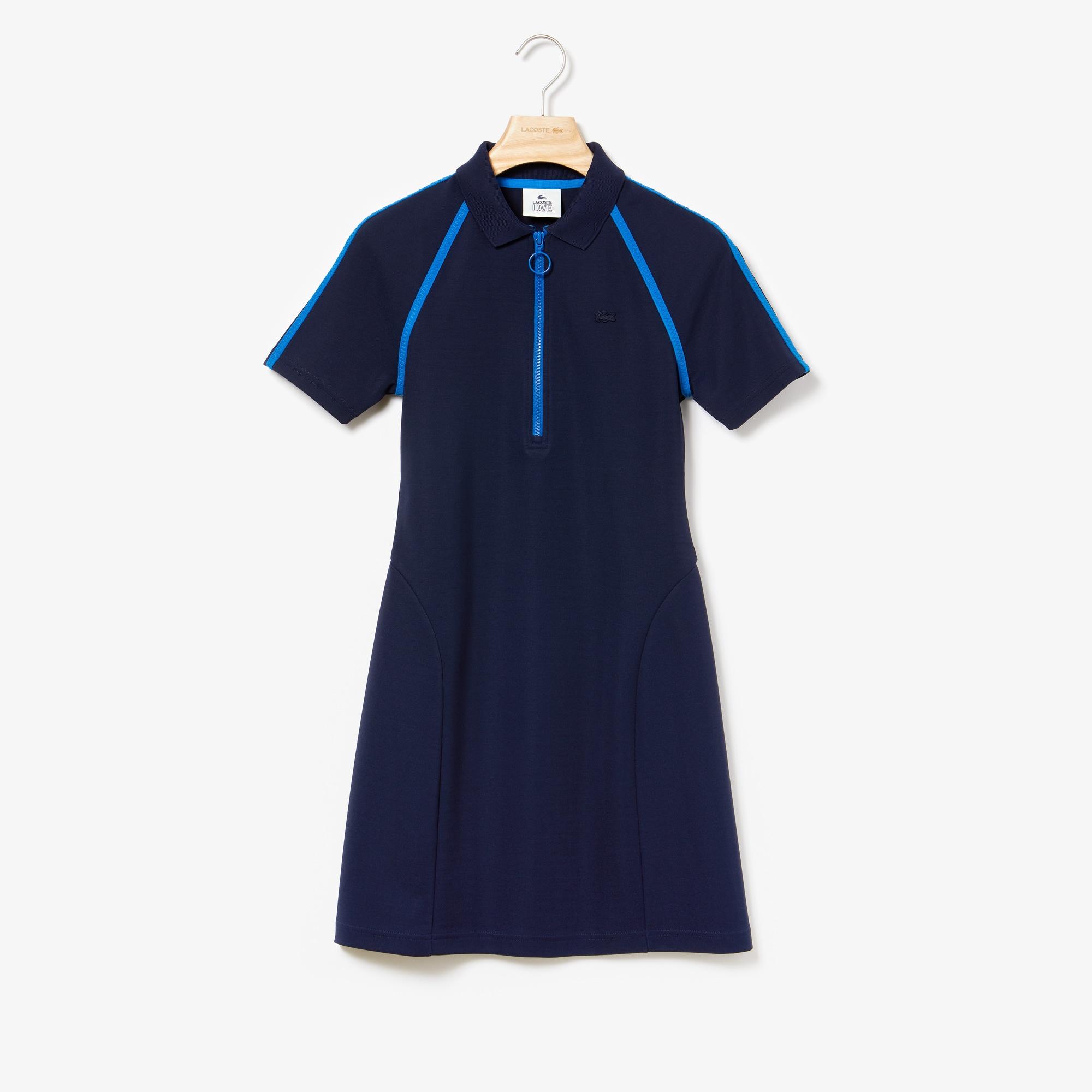 Women's LIVE Polo Collar Dress