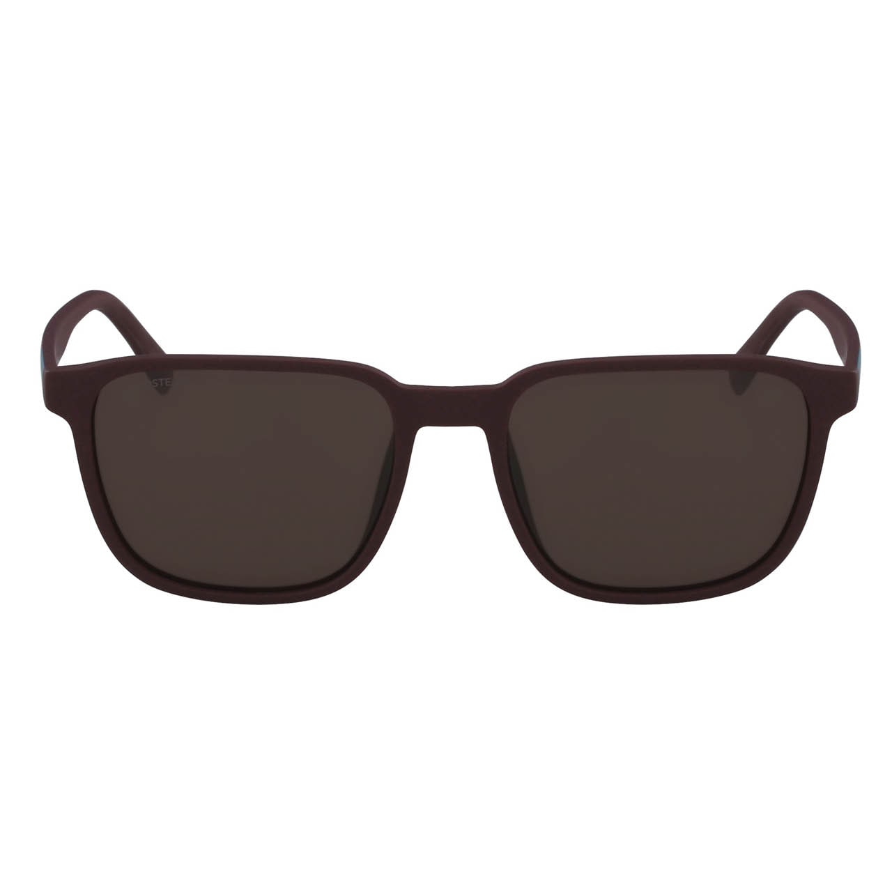 Men's Plastic Square Color Block Sunglasses