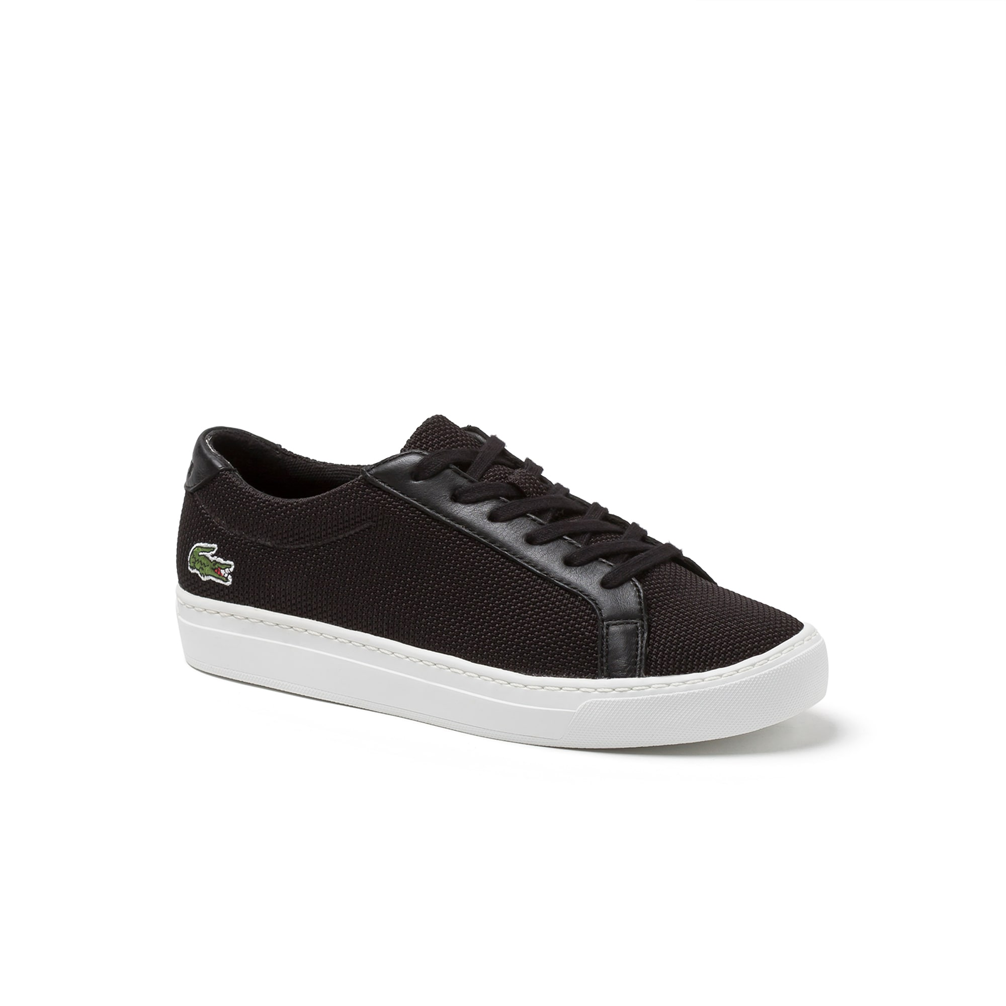 Juniors' L.12.12 BL Textile and Leather Trainers