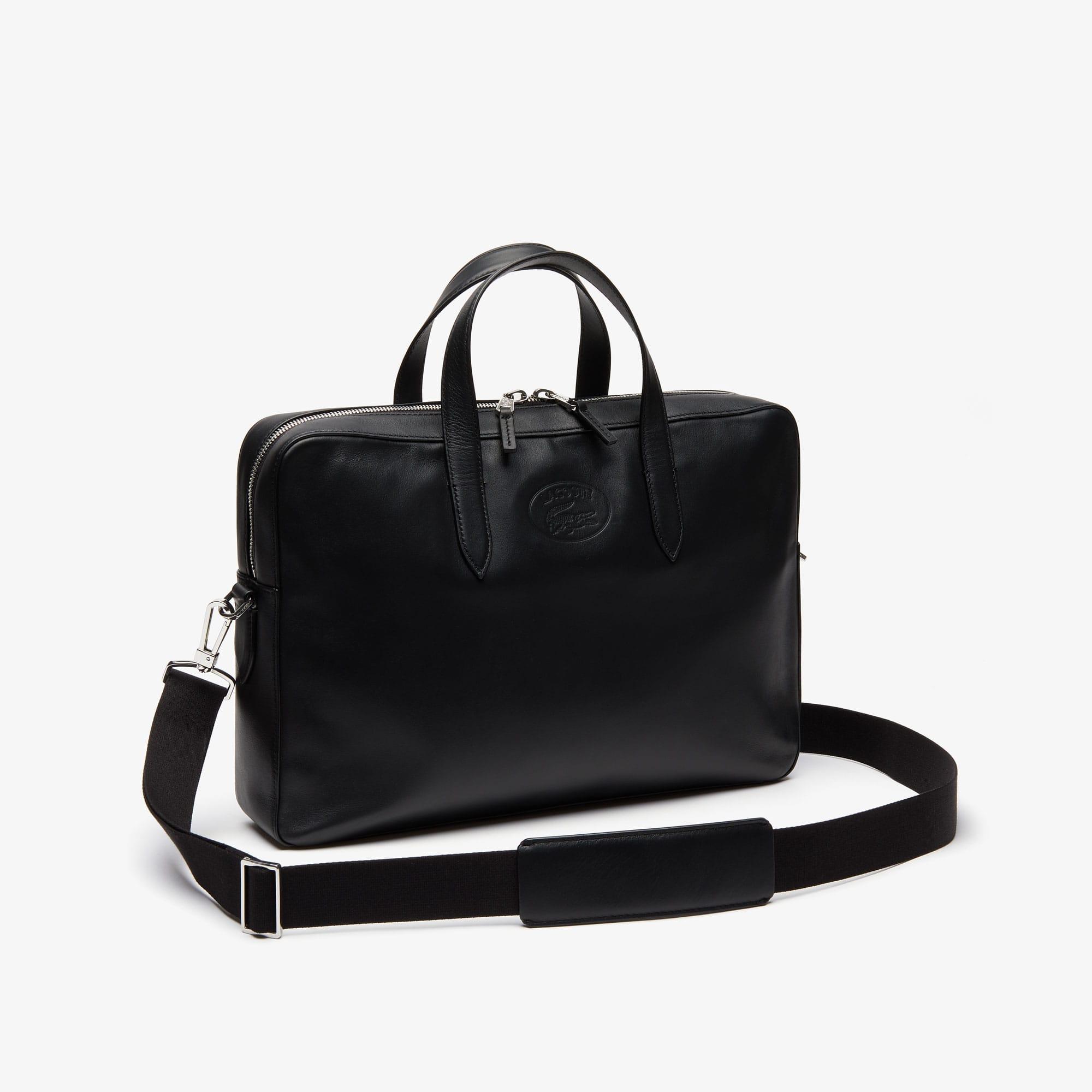 5c7d21816f5 Men's L.12.12 Casual Leather Computer Bag | LACOSTE