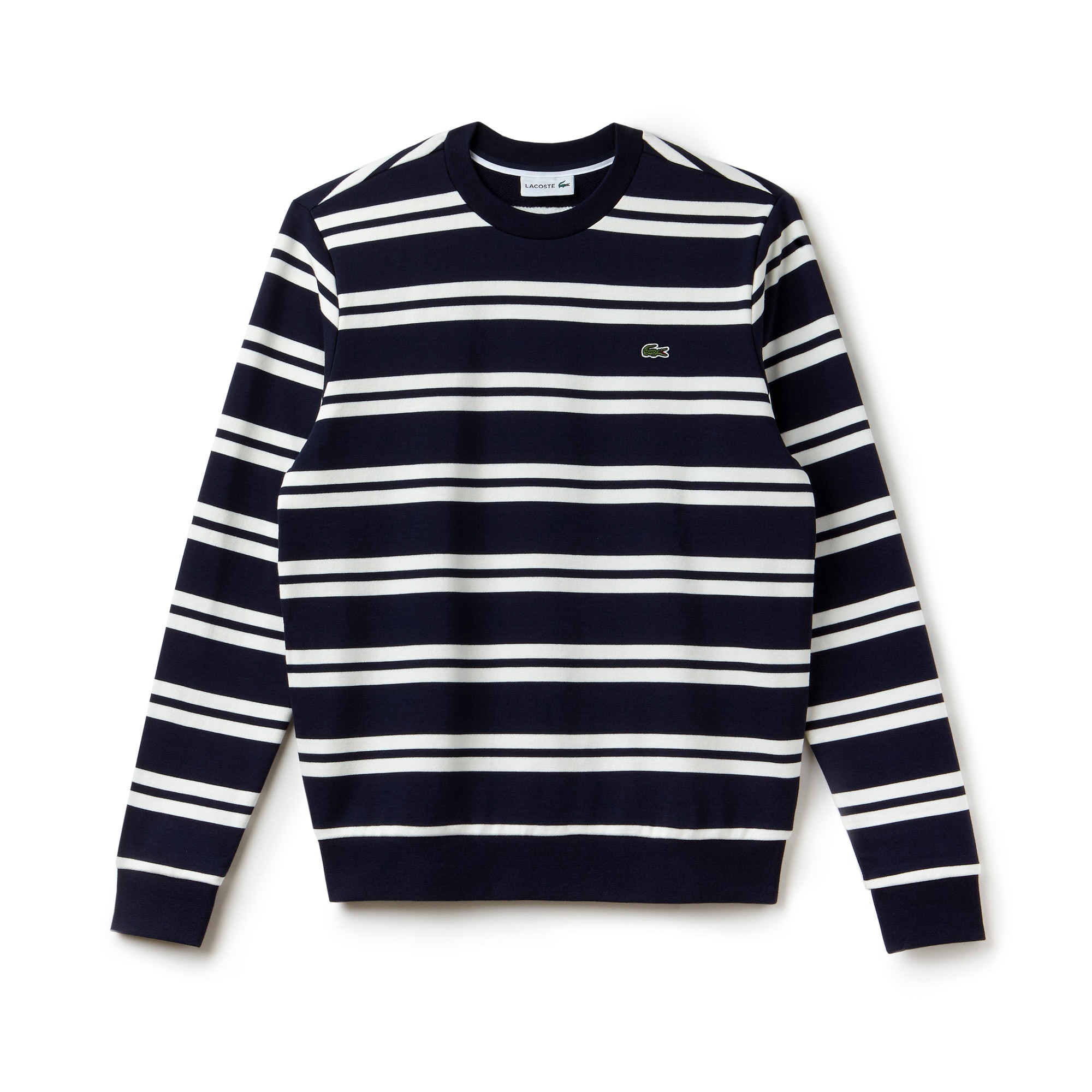Men's Nautical Stripe Brushed Fleece Sweatshirt