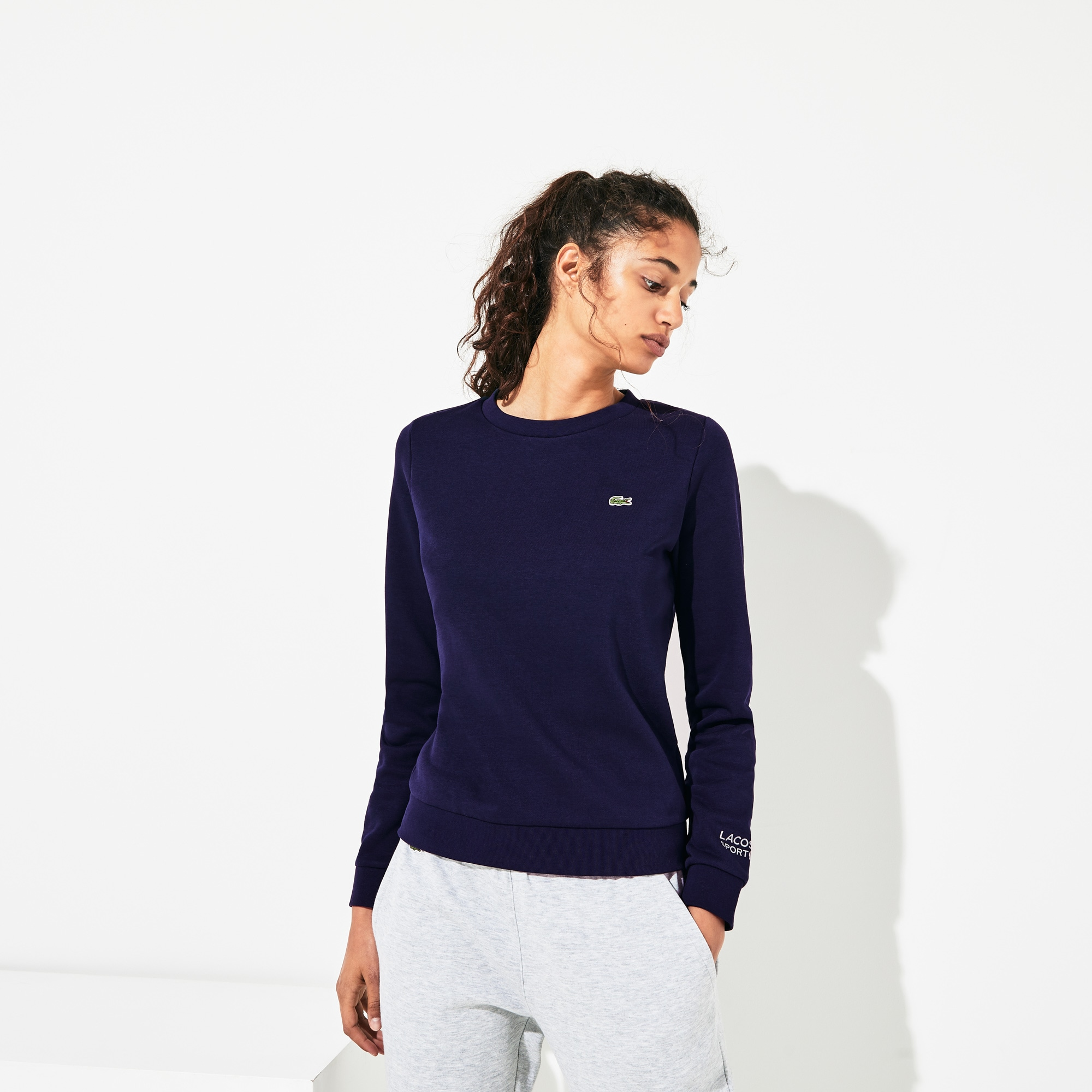 Women's SPORT Crew Neck Fleece Sweatshirt