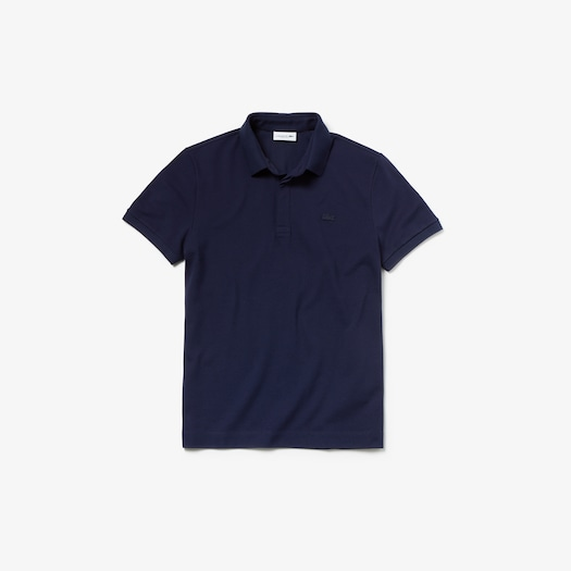 라코스테 Lacoste Mens Paris Polo,Navy Blue - 166 (Selected colour)