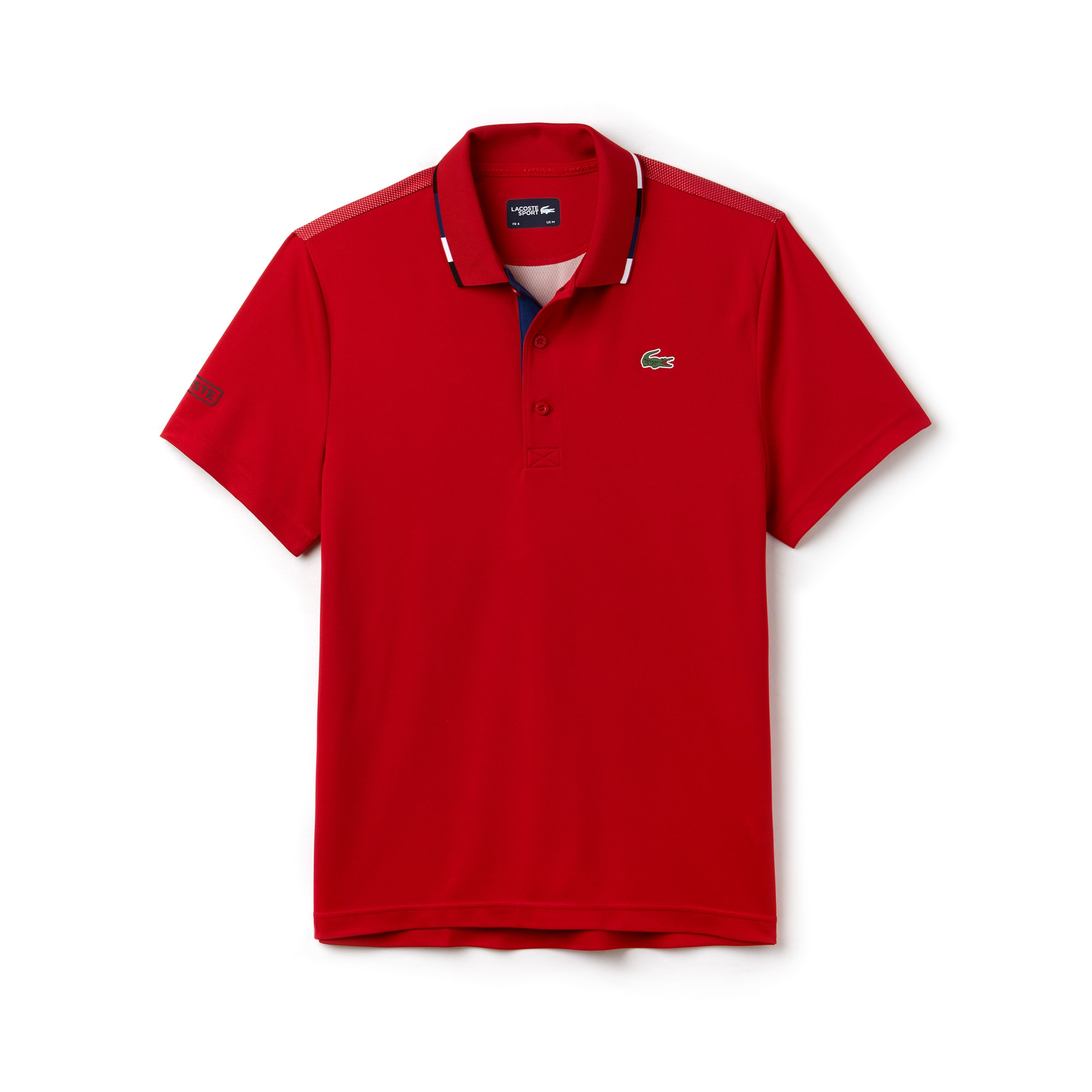 Men's SPORT Piped Piqué Tennis Polo