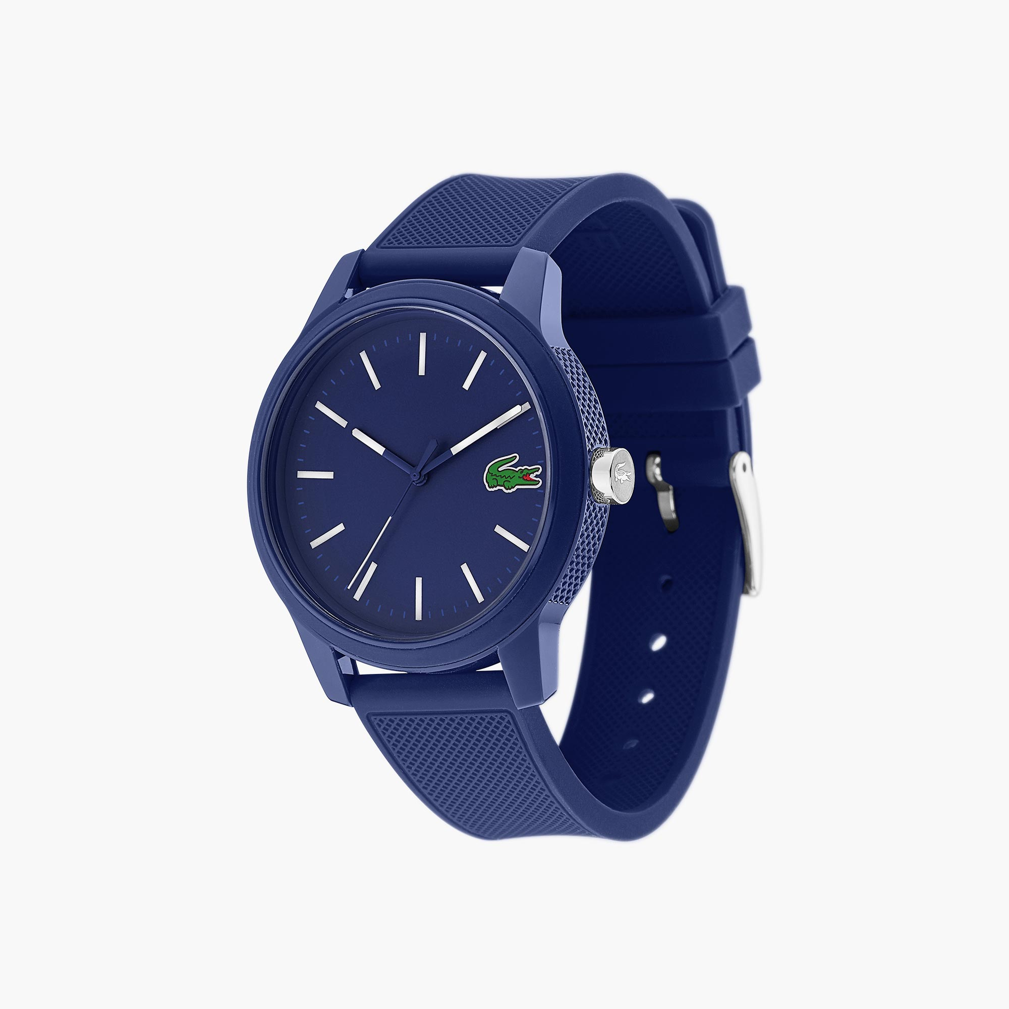 411c00c78f Men s Lacoste 12.12 Watch with Blue Silicone Strap