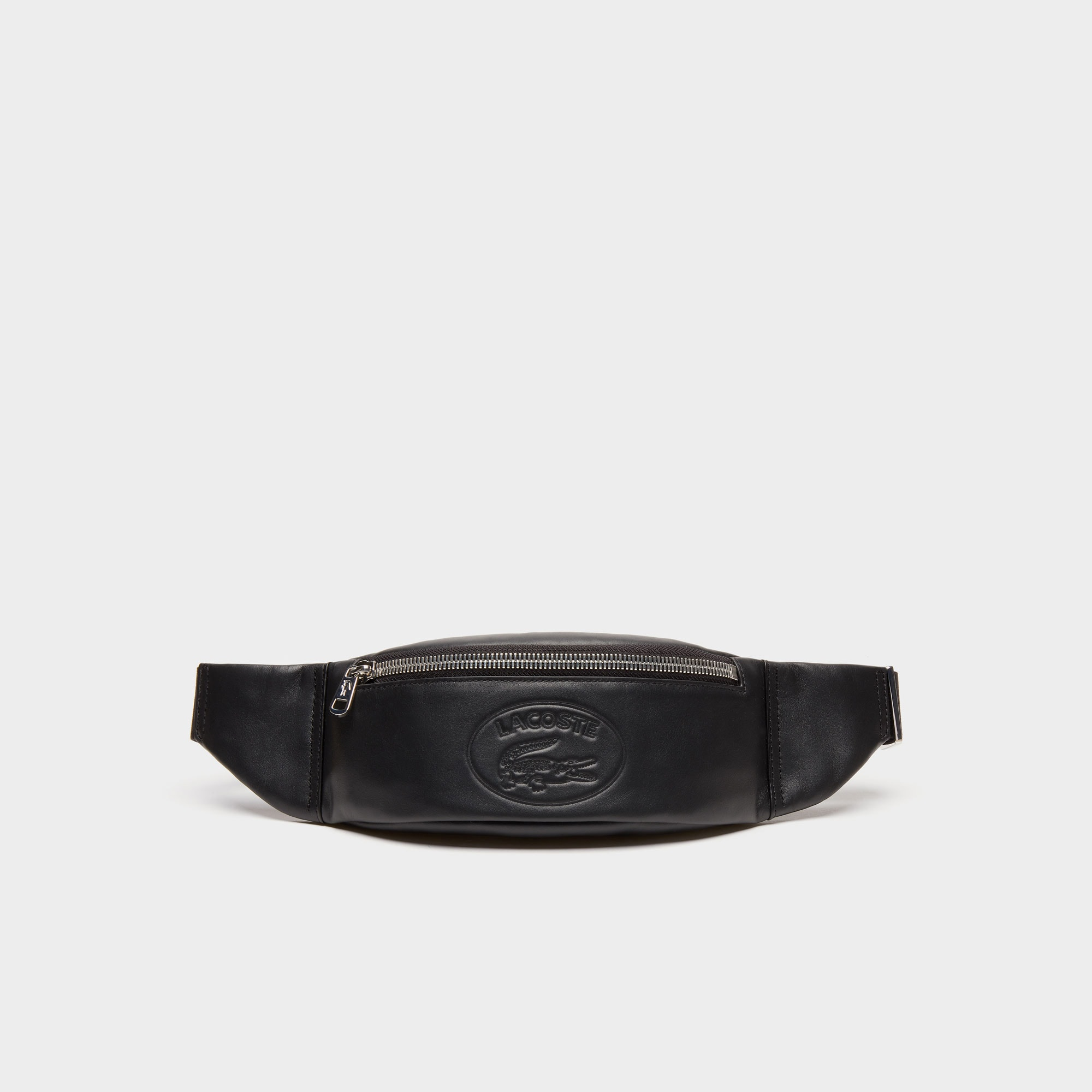 8ab9e4b509c6 Men s L.12.12 Casual Embossed Lettering Leather Zip Fanny Pack ...