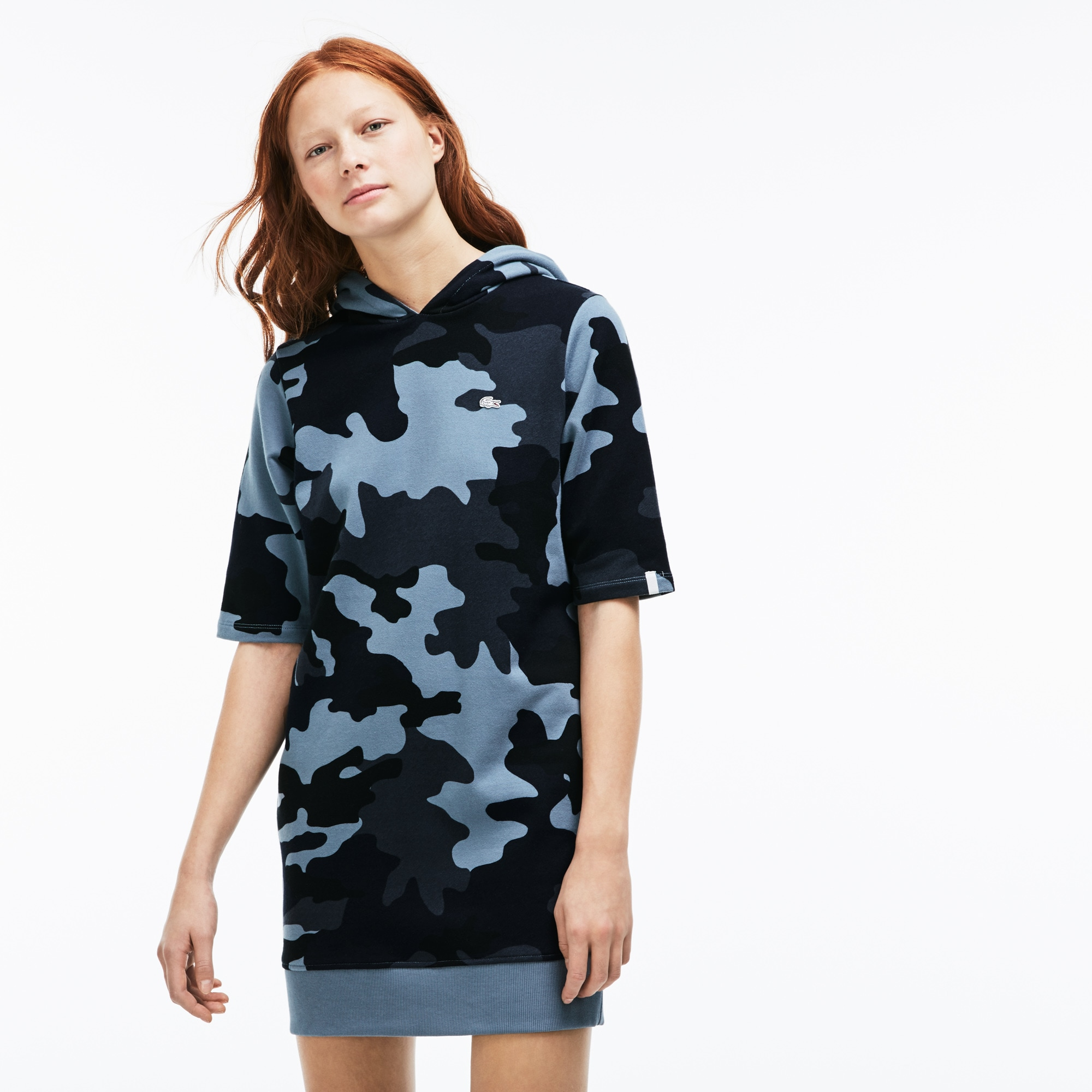 Women's LIVE Camouflage Sweatshirt Dress