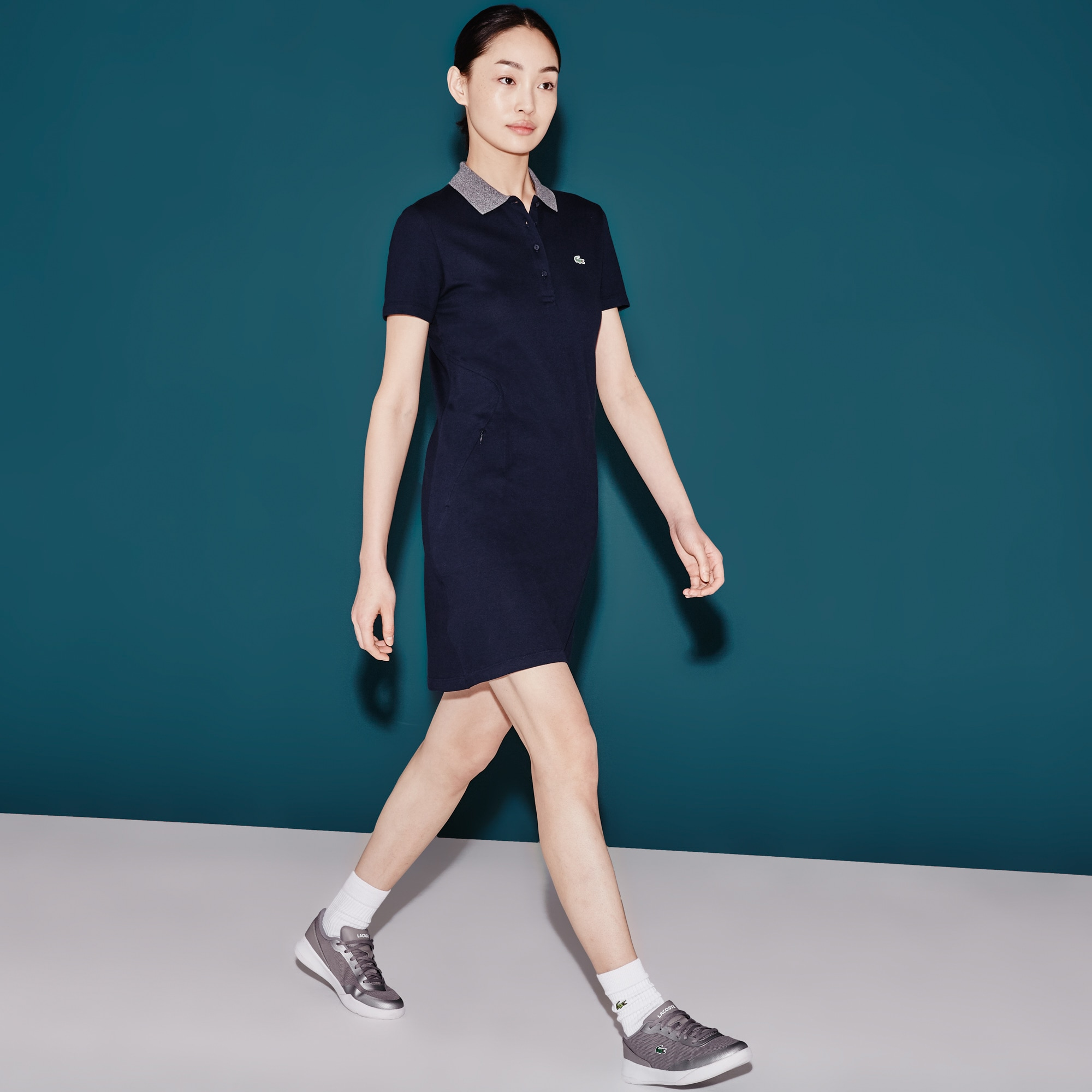 Women's  SPORT Golf Stretch Mini Piqué Polo Dress