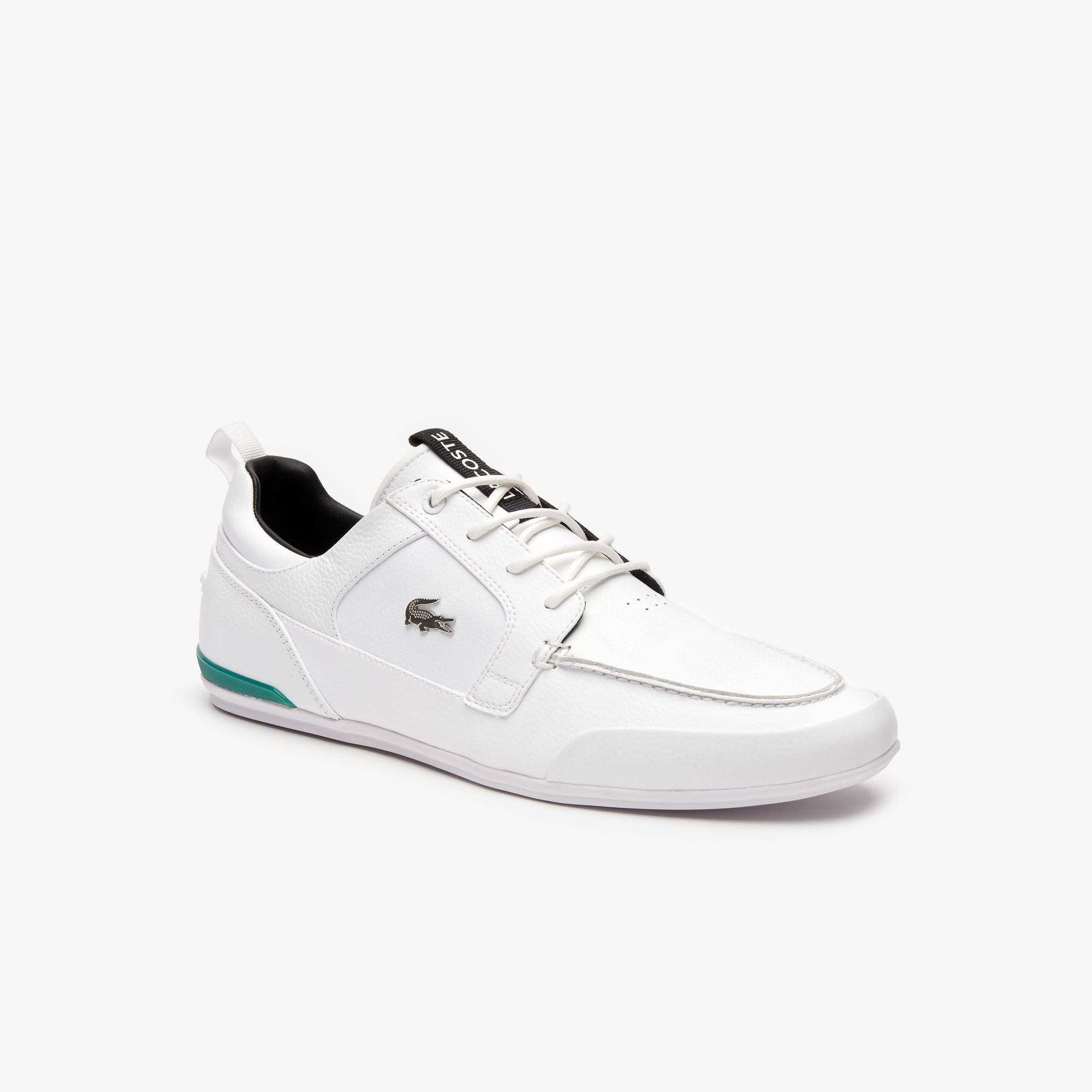 Lacoste  Men's Marina Leather Boat Shoes