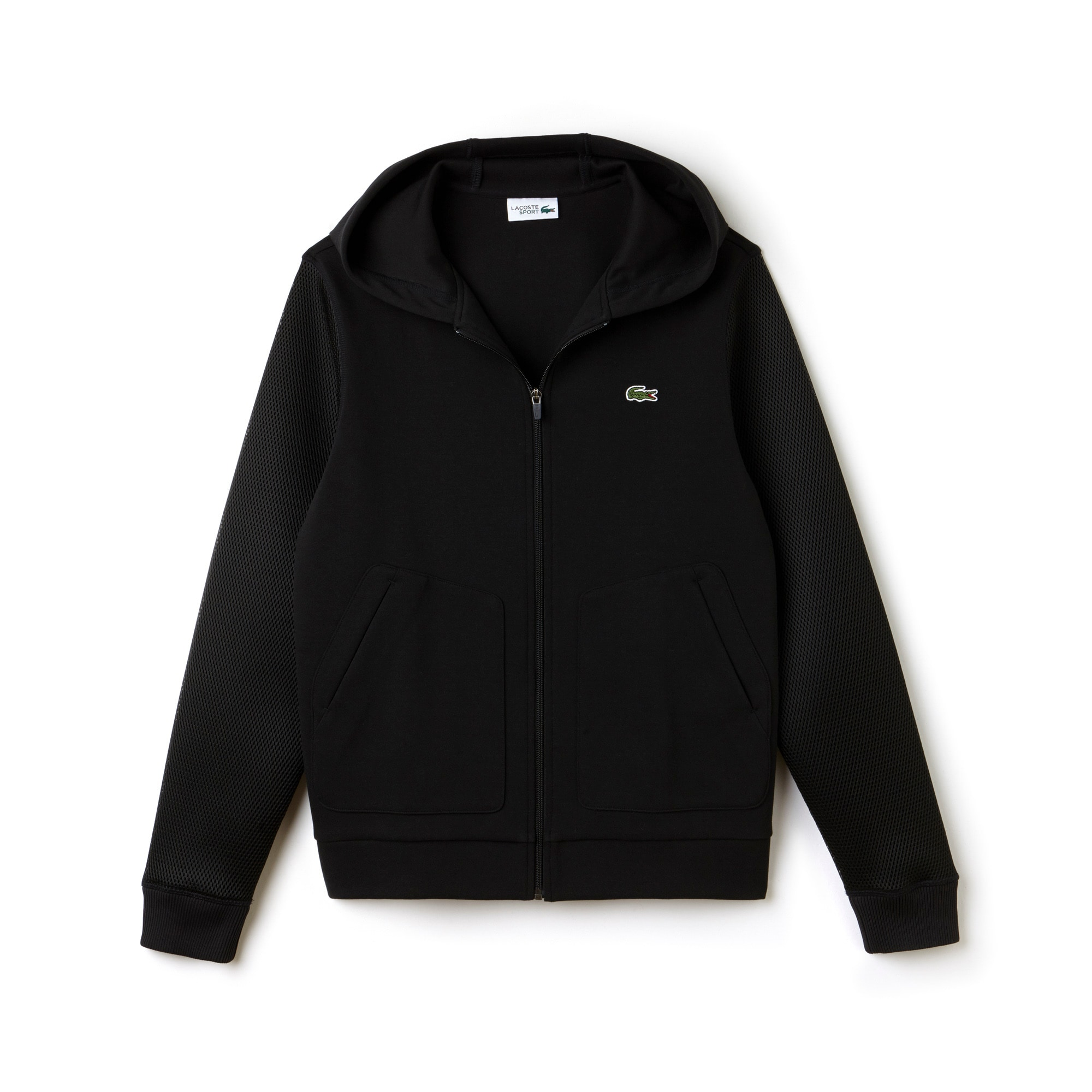 Men's SPORT Tennis Fleece And Mesh Zip Sweatshirt