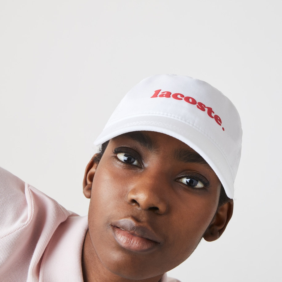 Women's Cotton Poplin Logo Cap