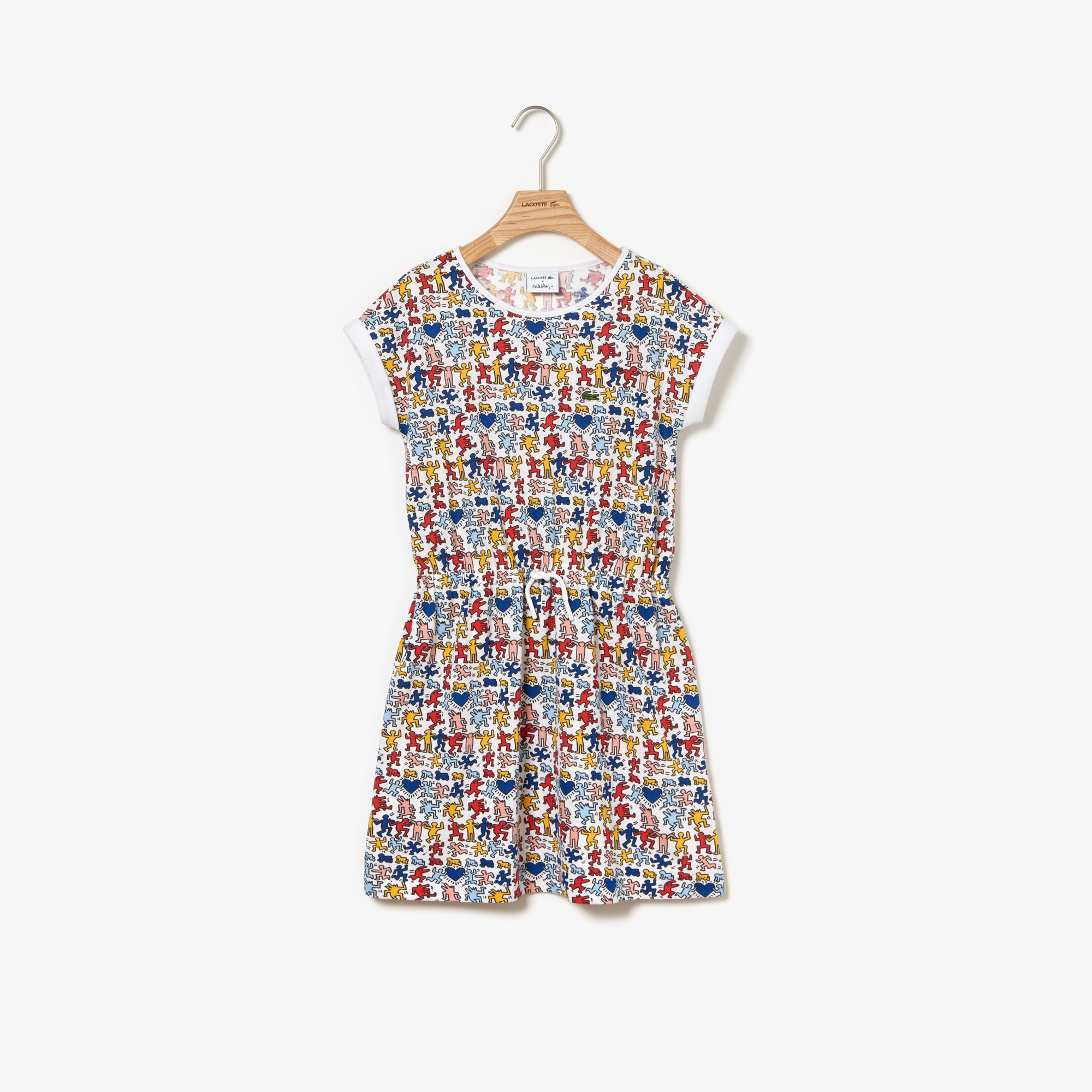 Keith Dress Girls' Collab Haring Cotton MpVGzqUS