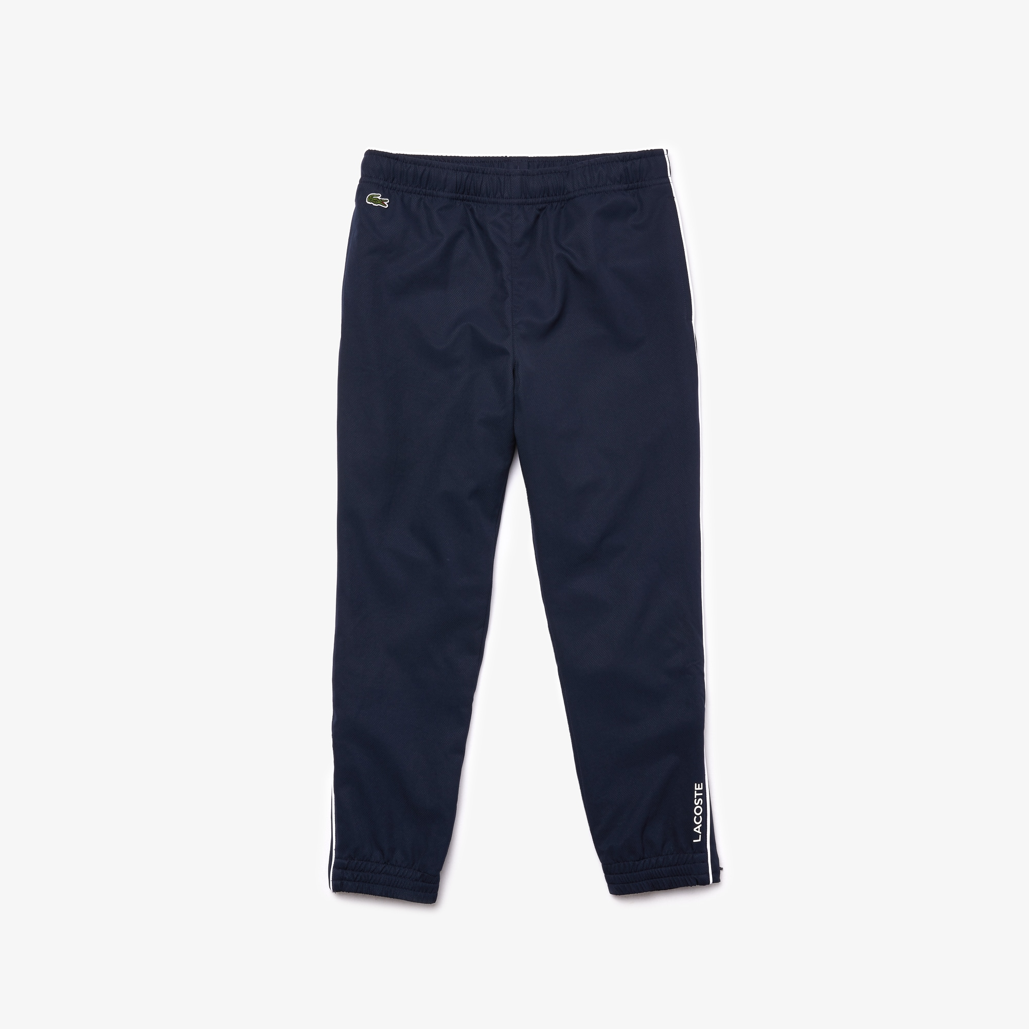 Boys 라코스테 Lacoste SPORT Piped Lightweight Trackpants