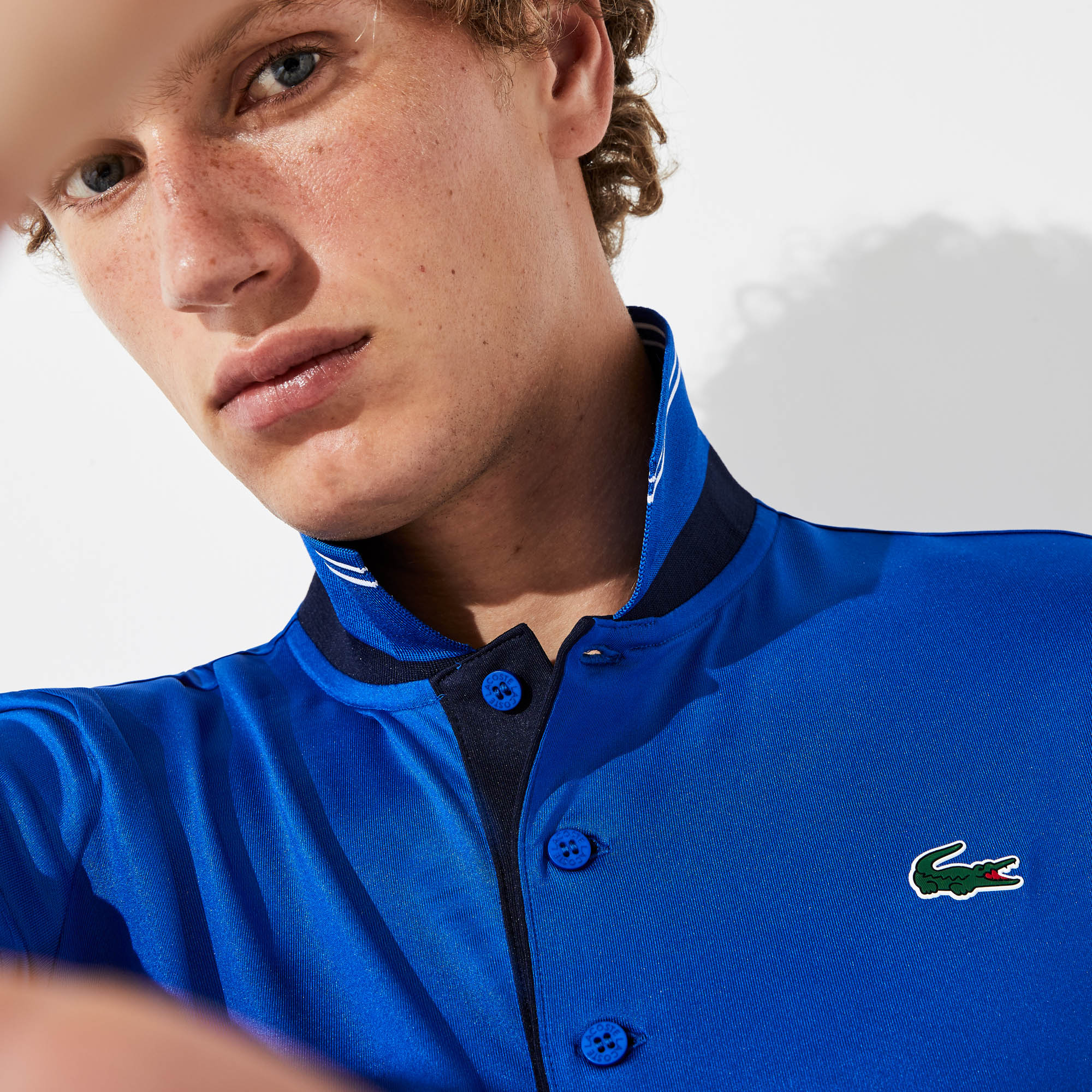 Lacoste Tops Men's SPORT Breathable Stretch Jersey Golf Polo