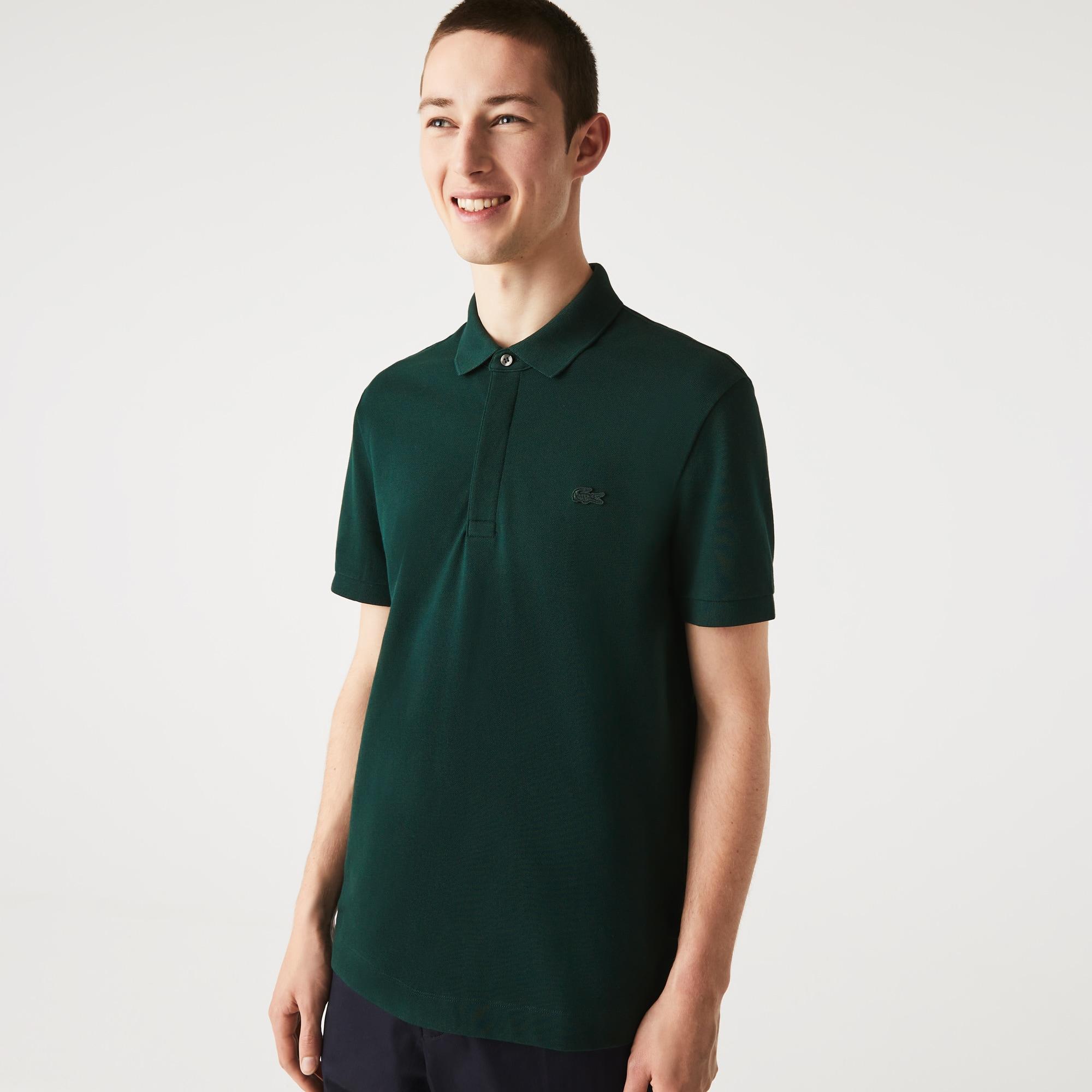 Lacoste Mens Regular Fit Paris Polo