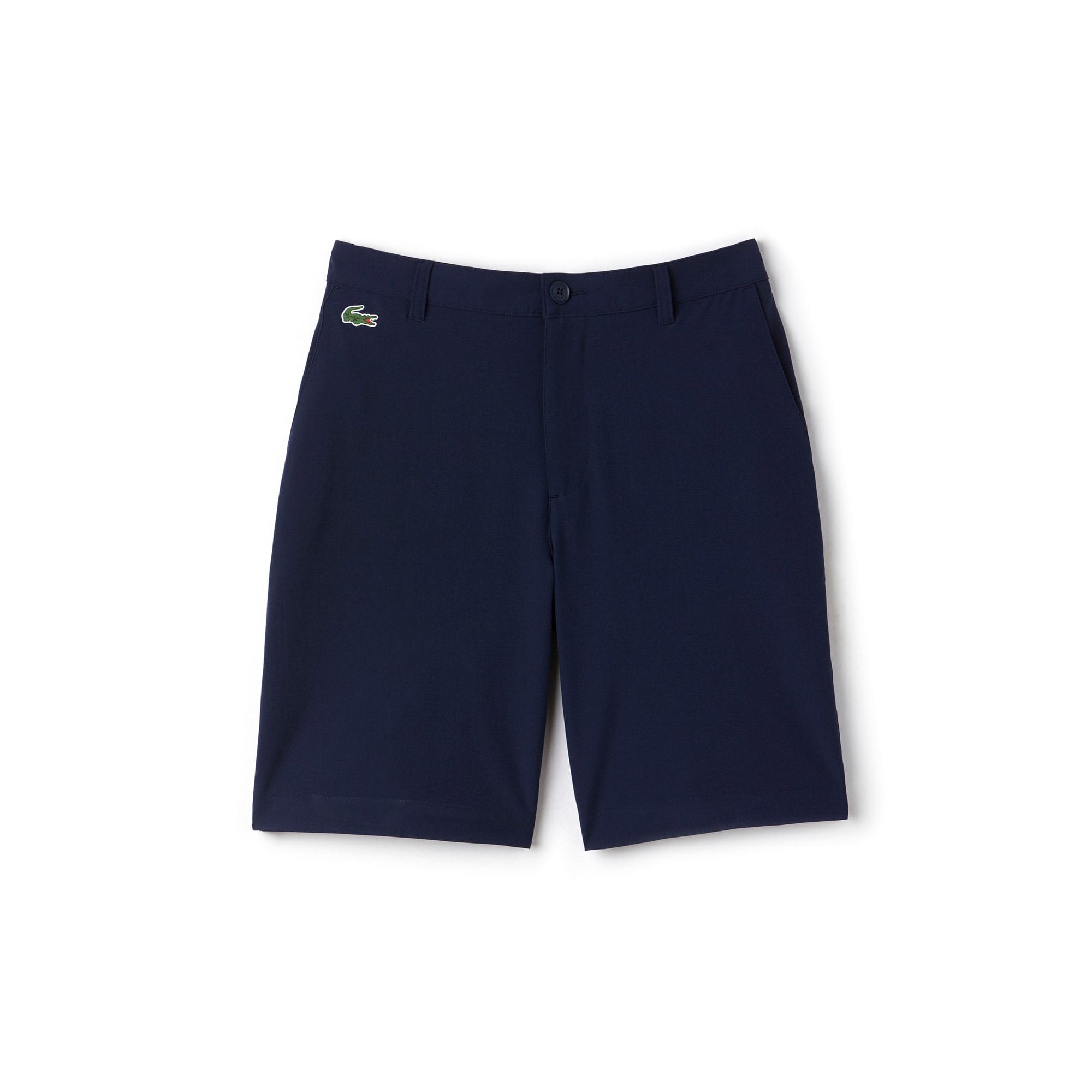 라코스테 Lacoste Mens SPORT Golf Stretch Bermudas,navy blue