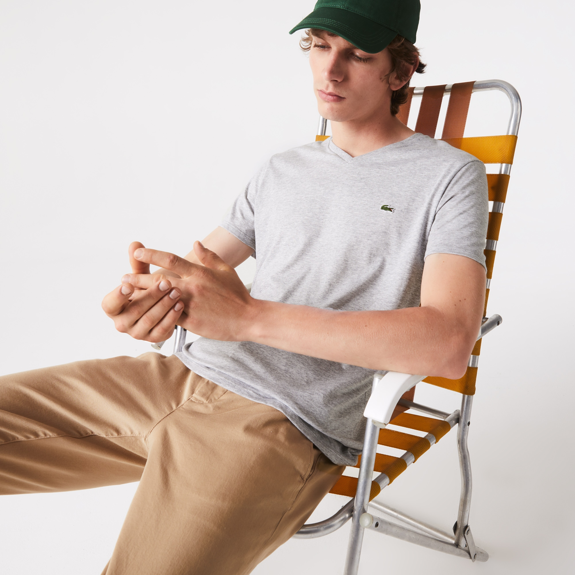 Men's T Shirts   Lacoste T Shirts   LACOSTE