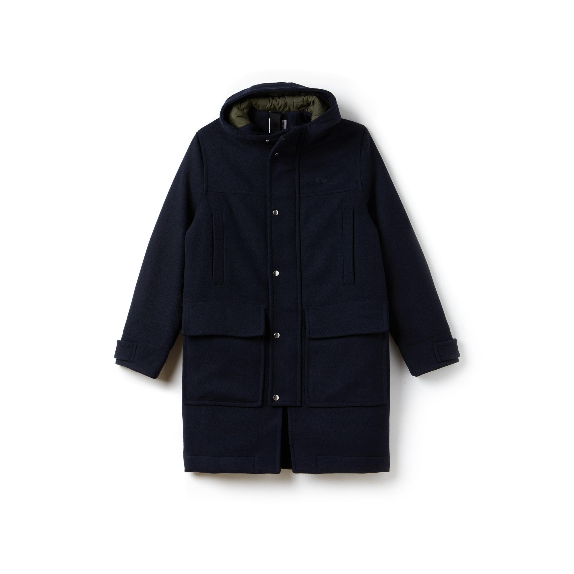 Unisex  LIVE Wool Broadcloth Duffel Coat