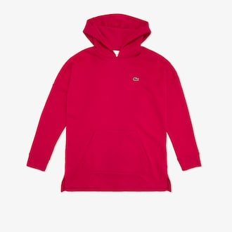 라코스테 스포츠 우먼 테니스 스웻셔츠 Lacoste Womens SPORT Hooded Fleece Tennis Sweatshirt