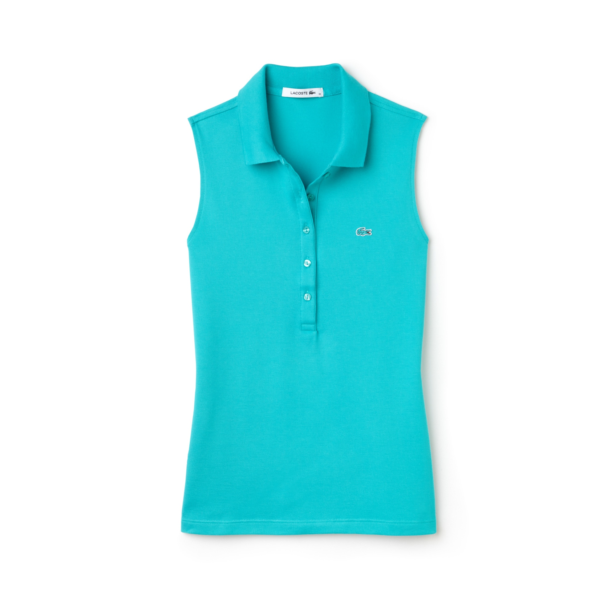 Women's Stretch Petit Piqué Polo Shirt