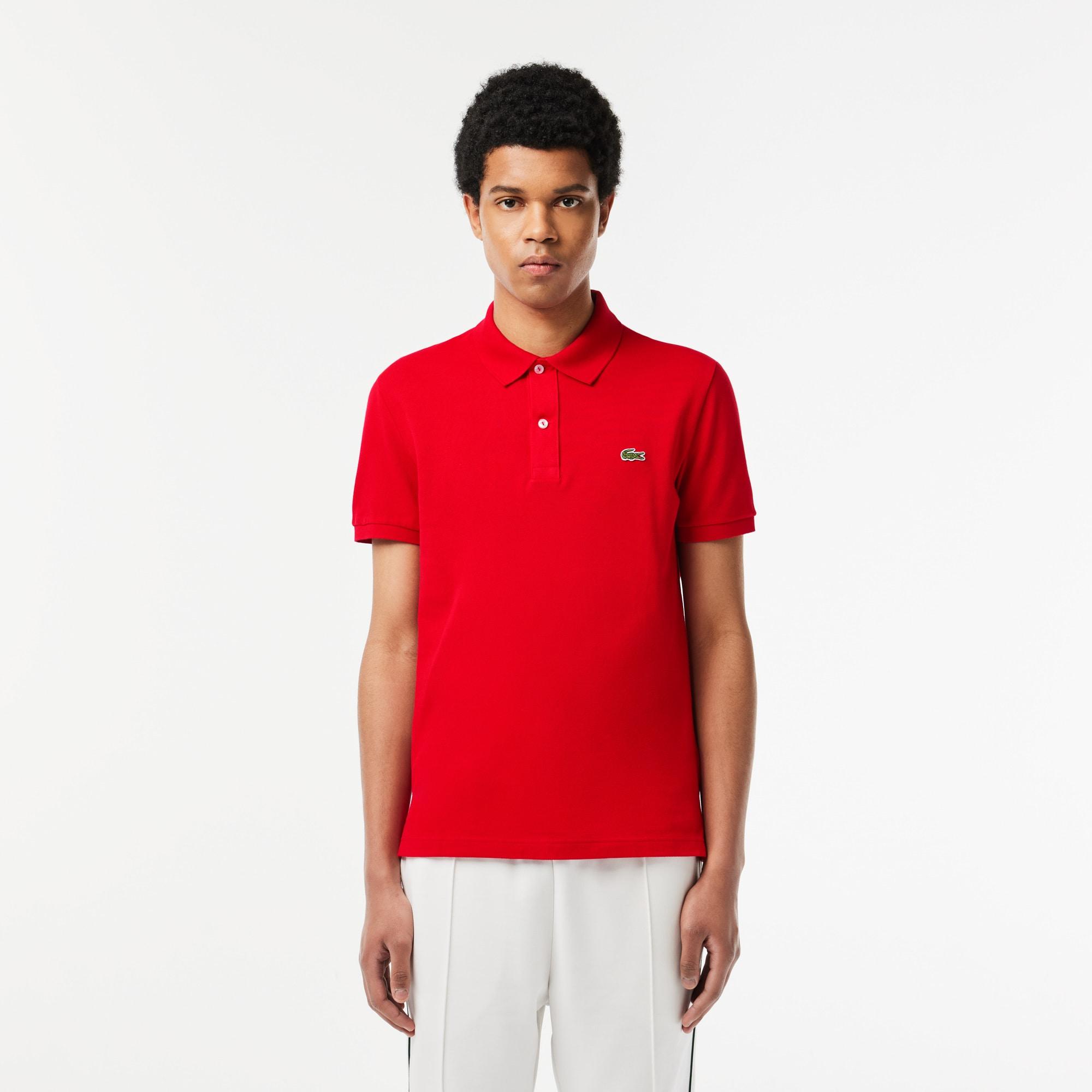 Men's Slim Fit Petit Piqué Polo Shirt