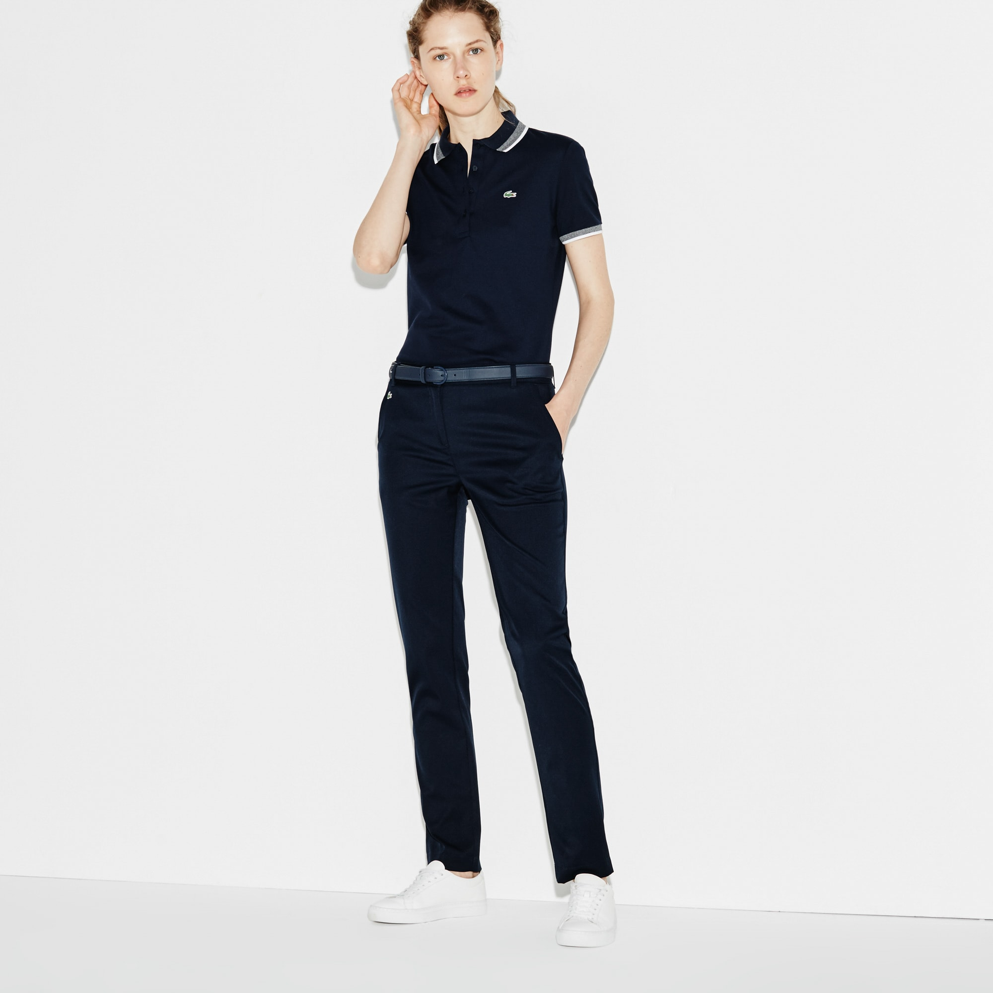Women's  SPORT Golf Pleated Tech Gabardine Pants