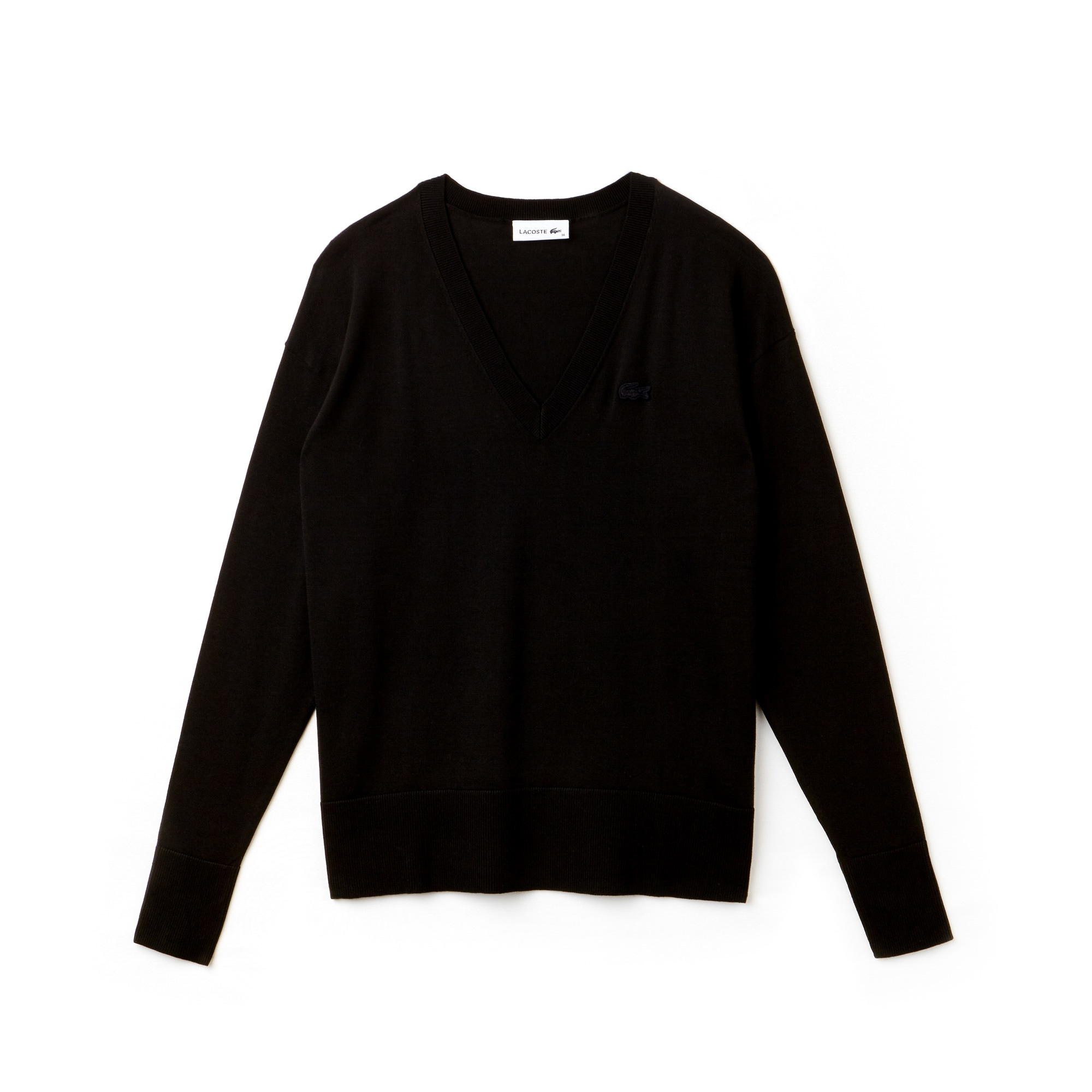 Women's V-Neck Cotton Sweater