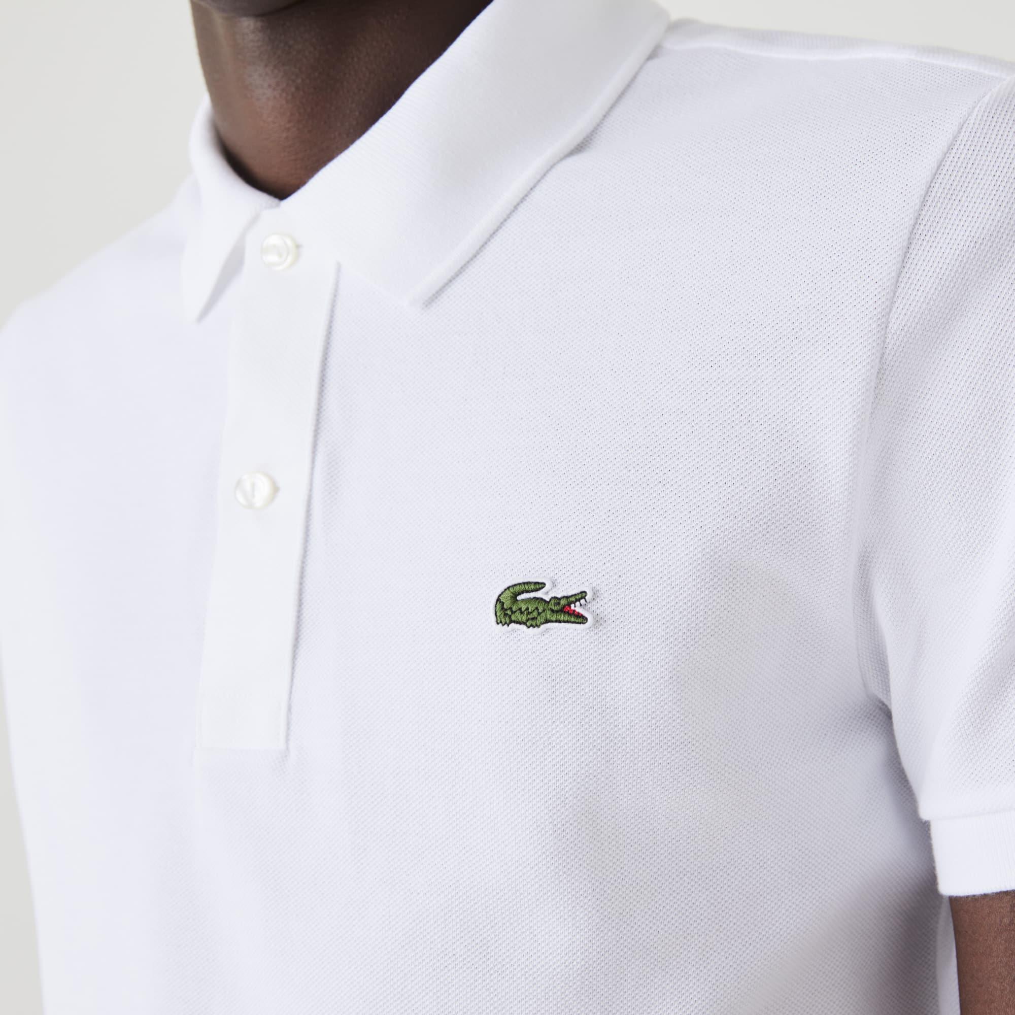 Men's Slim Fit Polo in Petit Piqué