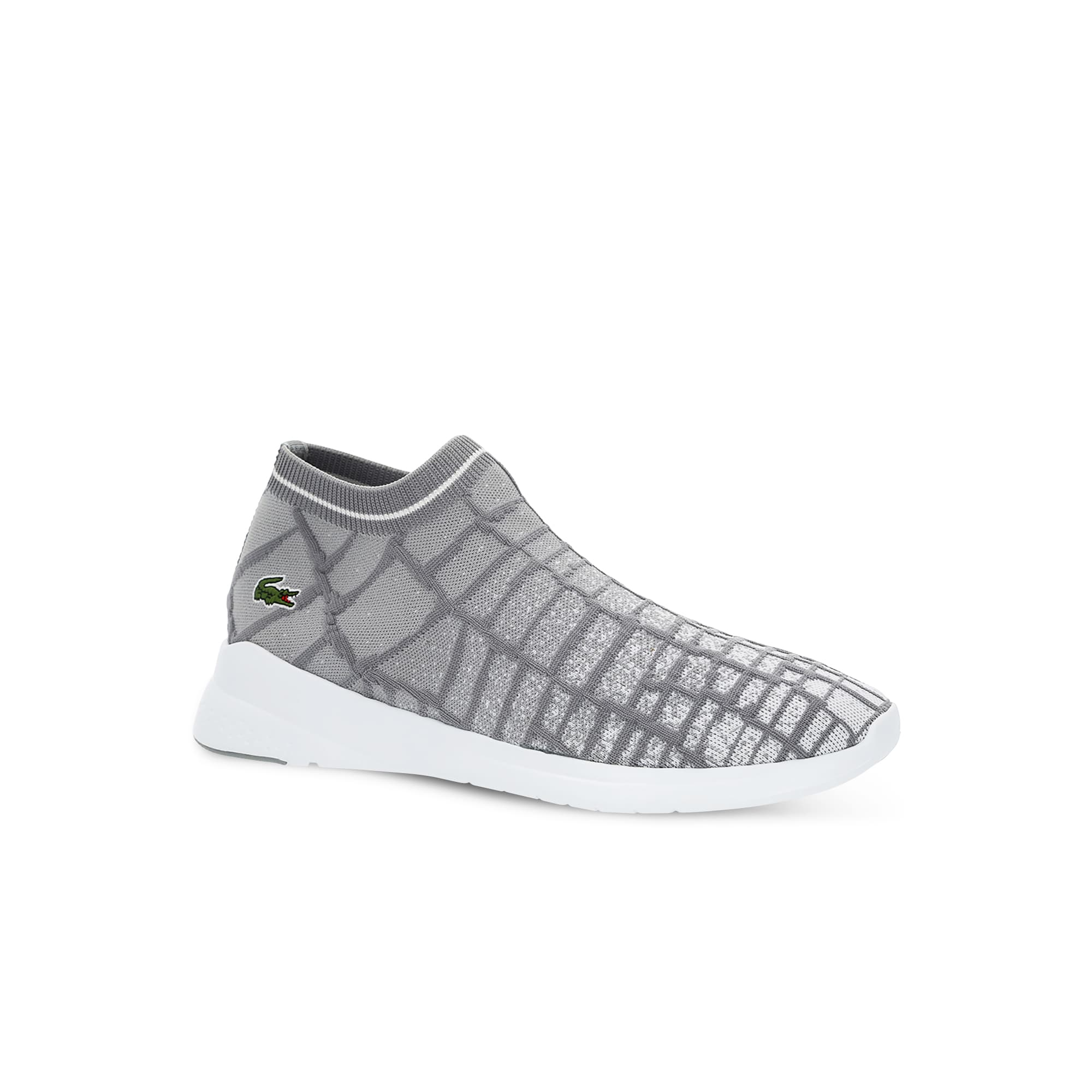 Men's LT Fit Sock Sneakers with Green Croc
