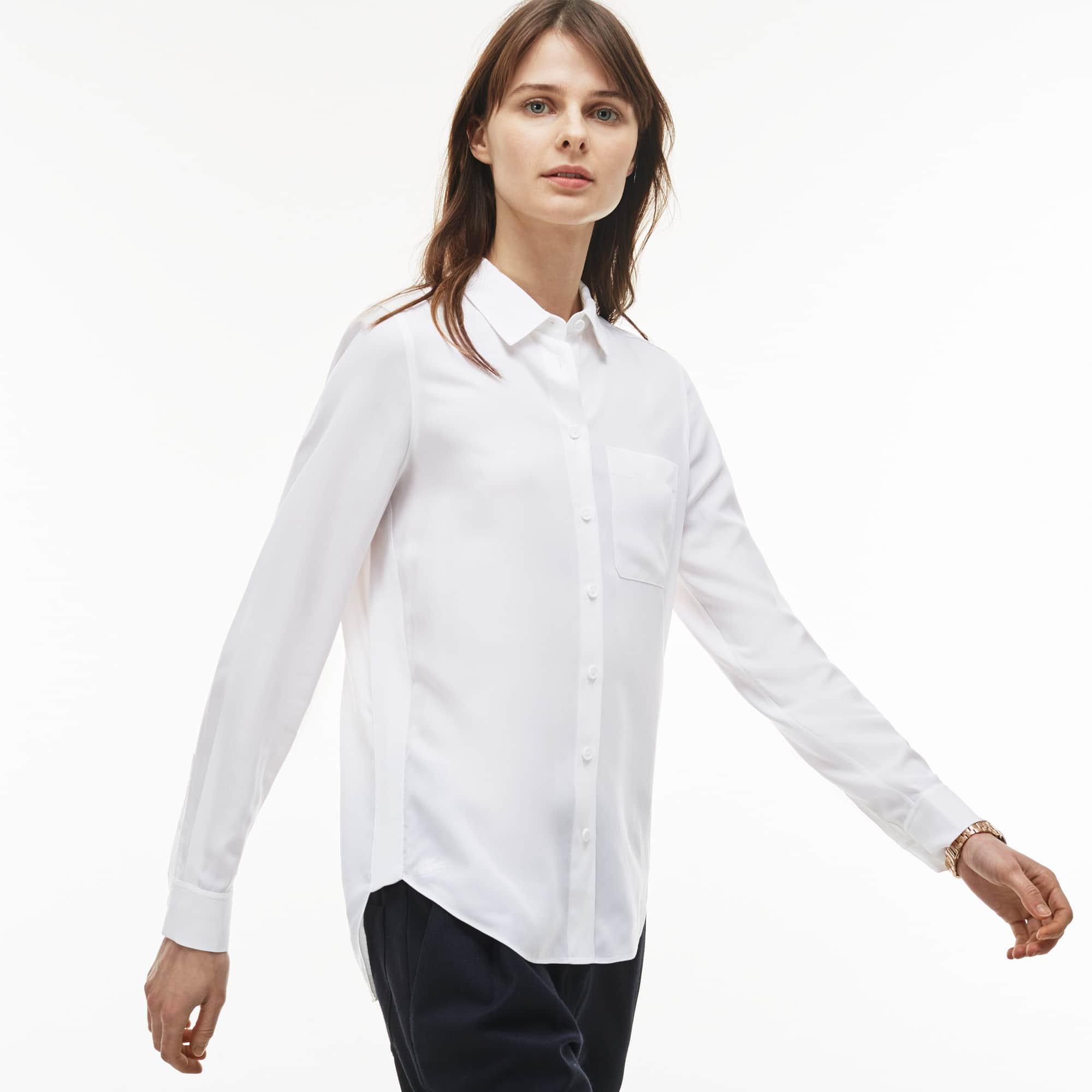 Women's Regular Fit Cotton Twill Shirt