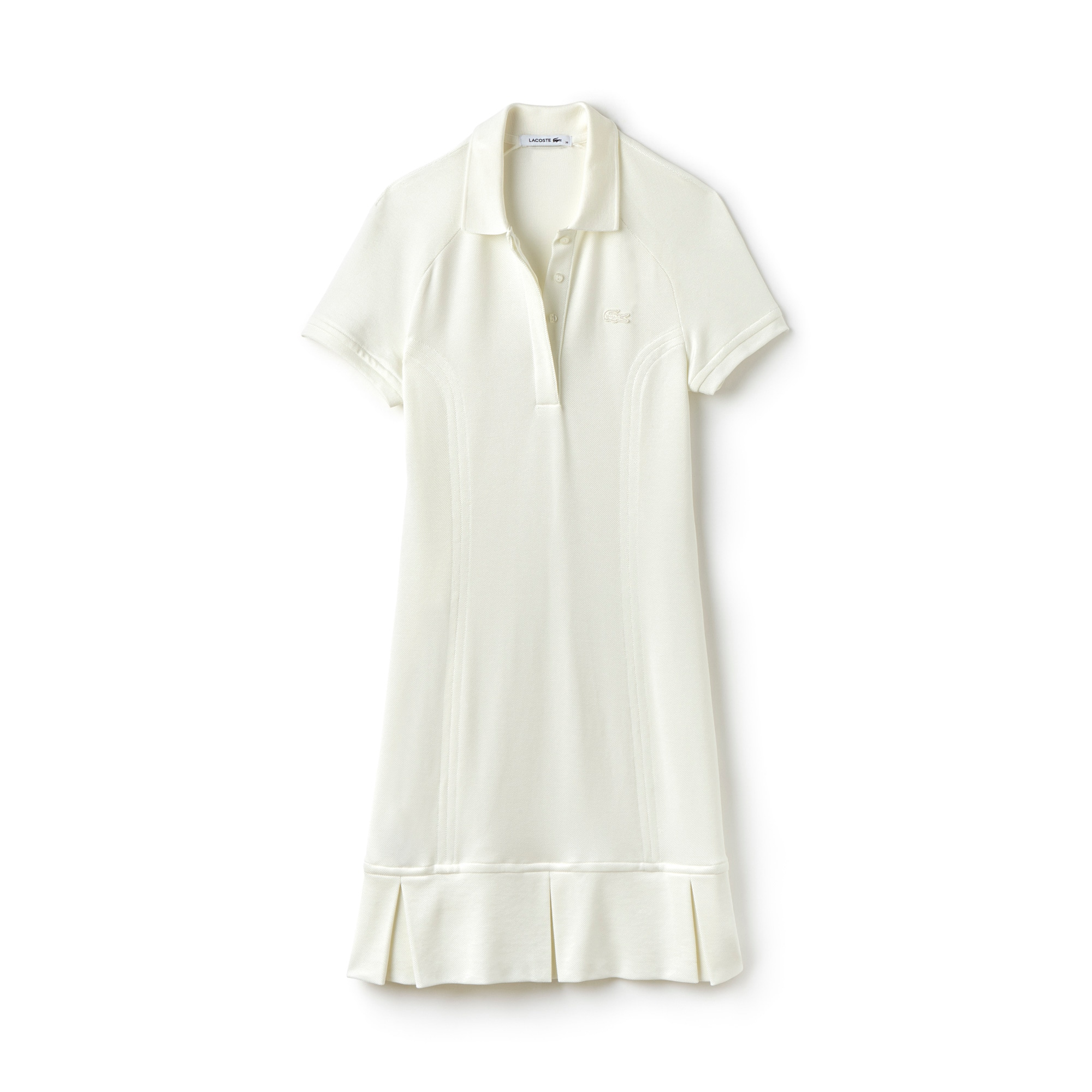 Women's Technical Split Pleat Piqué Polo Dress