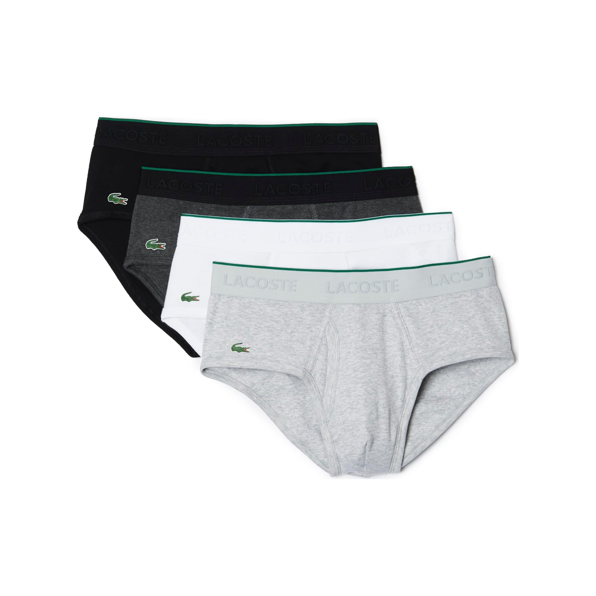 Men's Essentials Collection 4-Pack Cotton Briefs