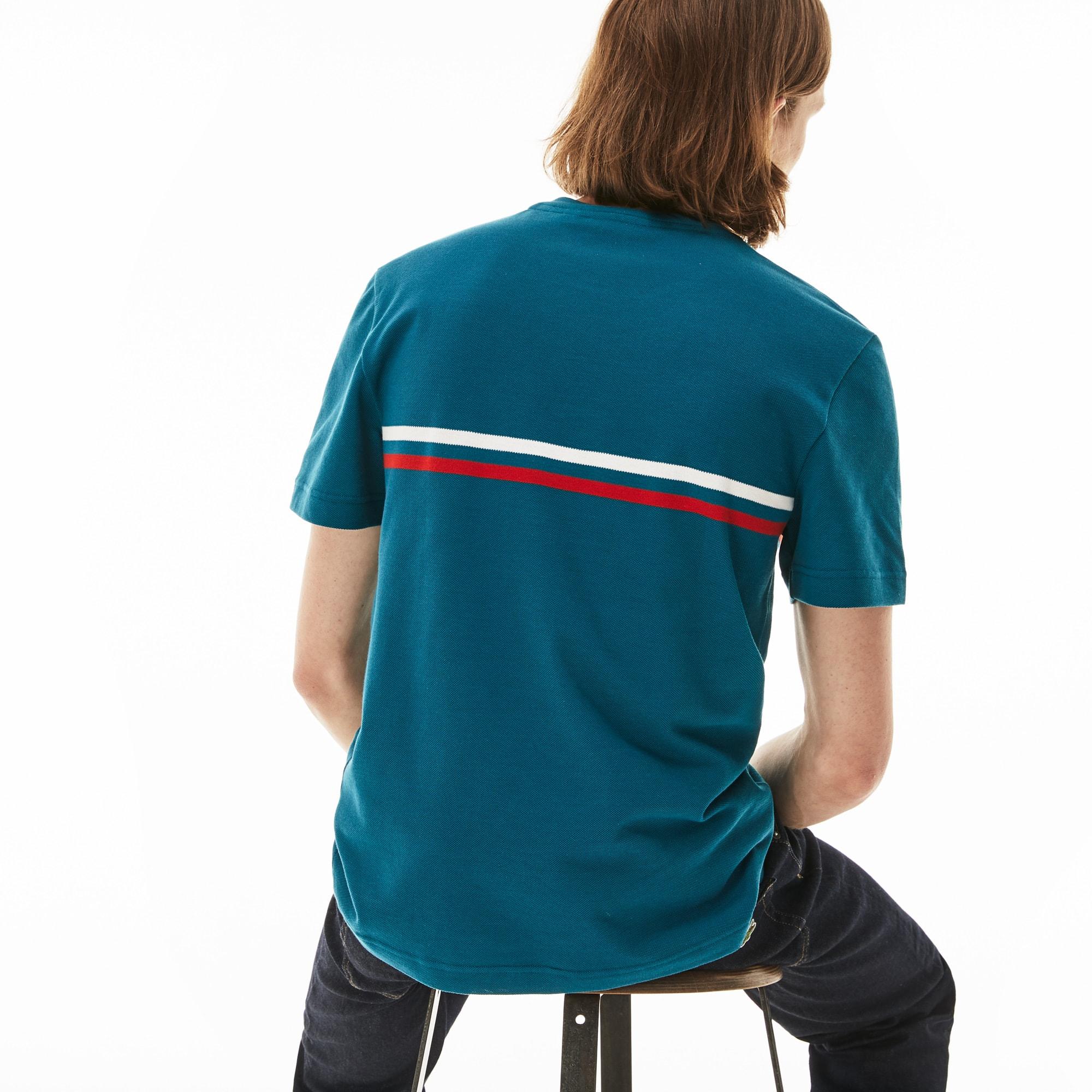 men 39 s made in france cotton t shirt lacoste. Black Bedroom Furniture Sets. Home Design Ideas