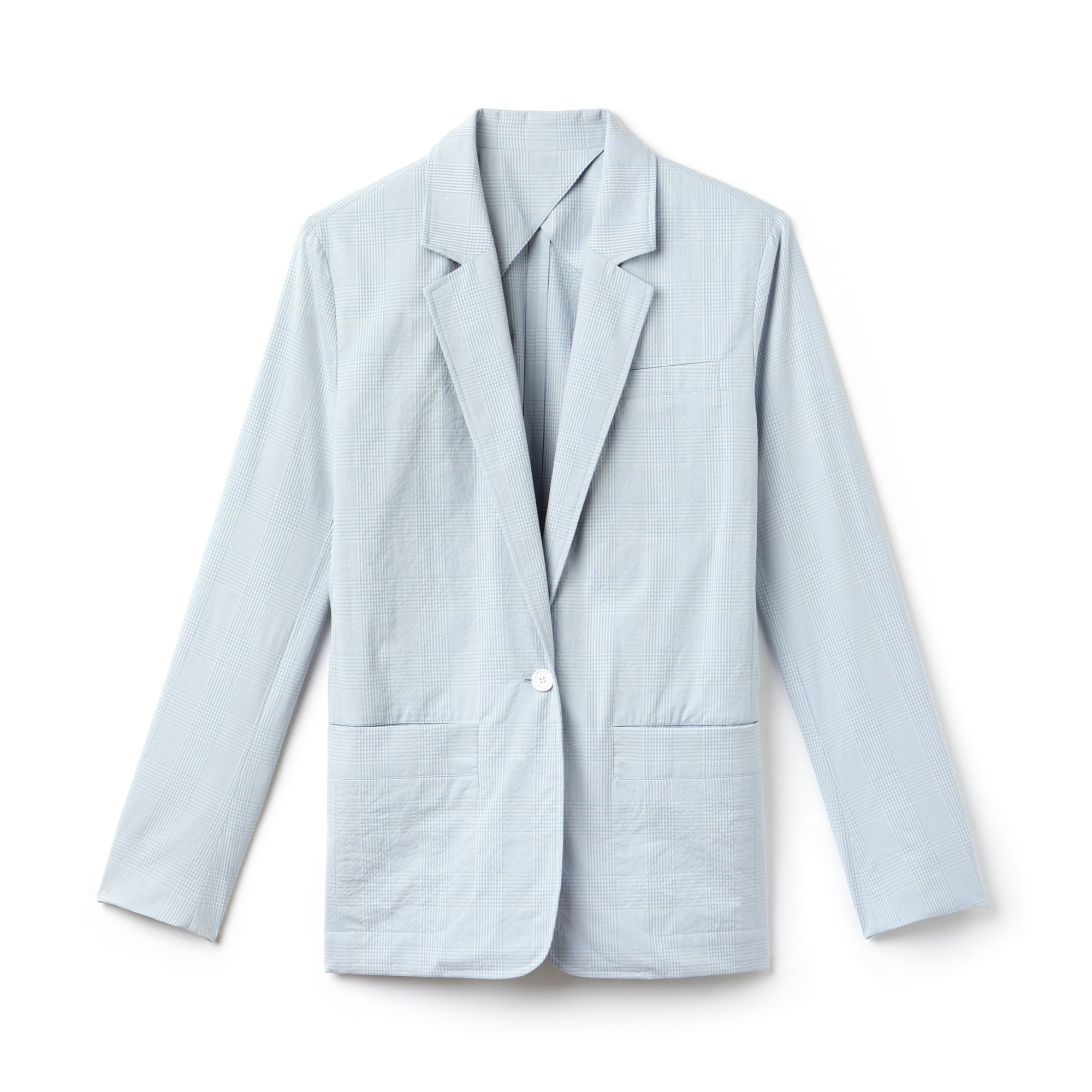 Women's Fashion Show Seersucker Blazer