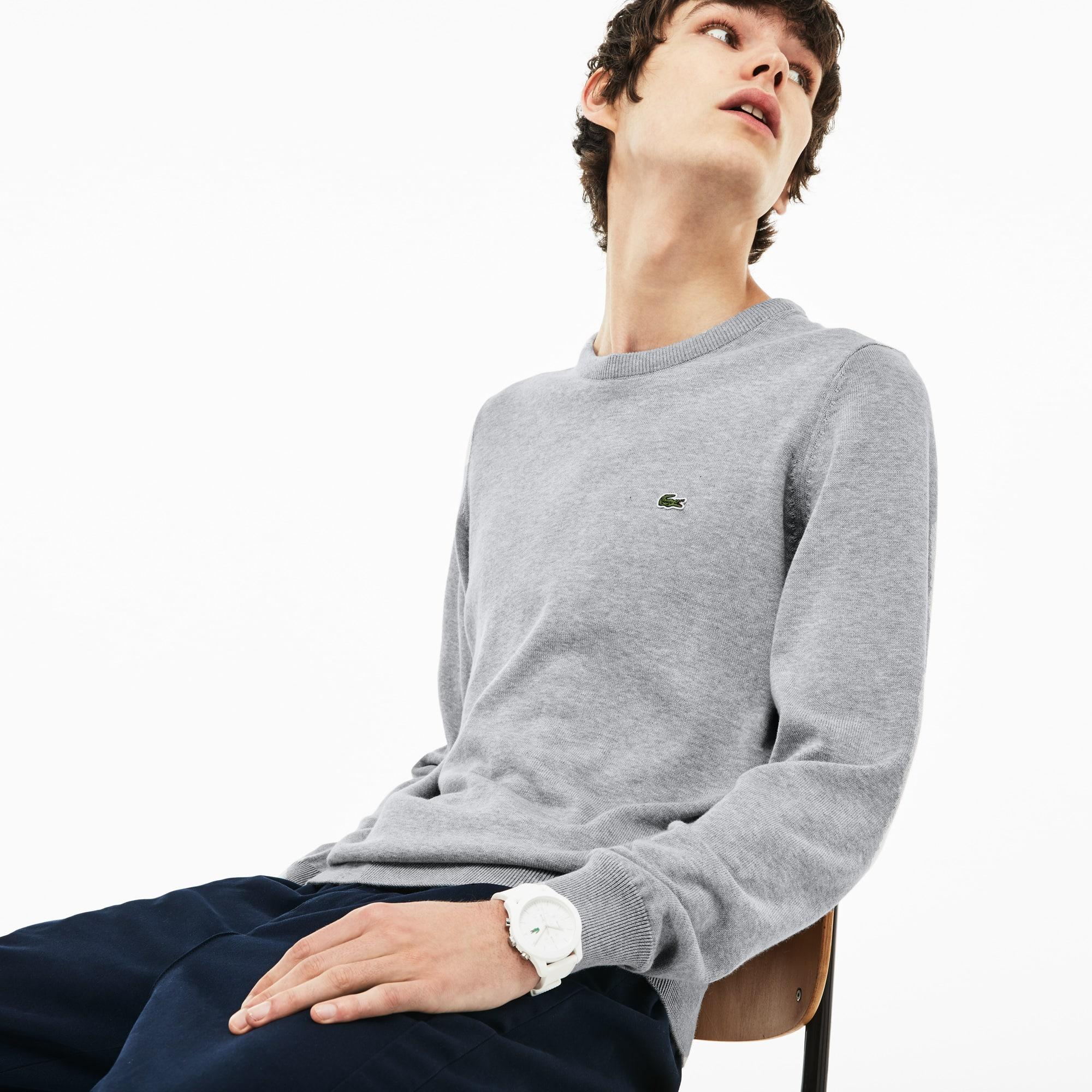 Men's Caviar Piqué Accent Sweater